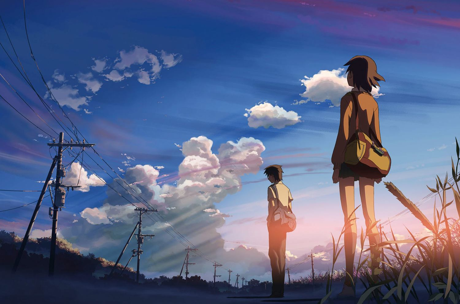 Looking at clouds, 5 Centimeters Per Second