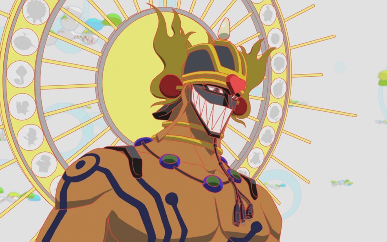 masked character, Summer Wars