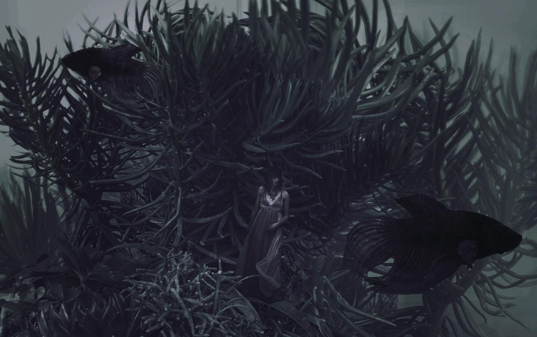 Karina Boissonnier - underwater