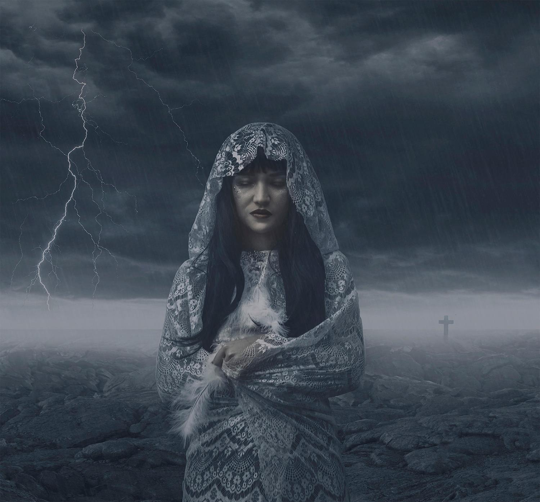 Karina Boissonnier - storm portrait