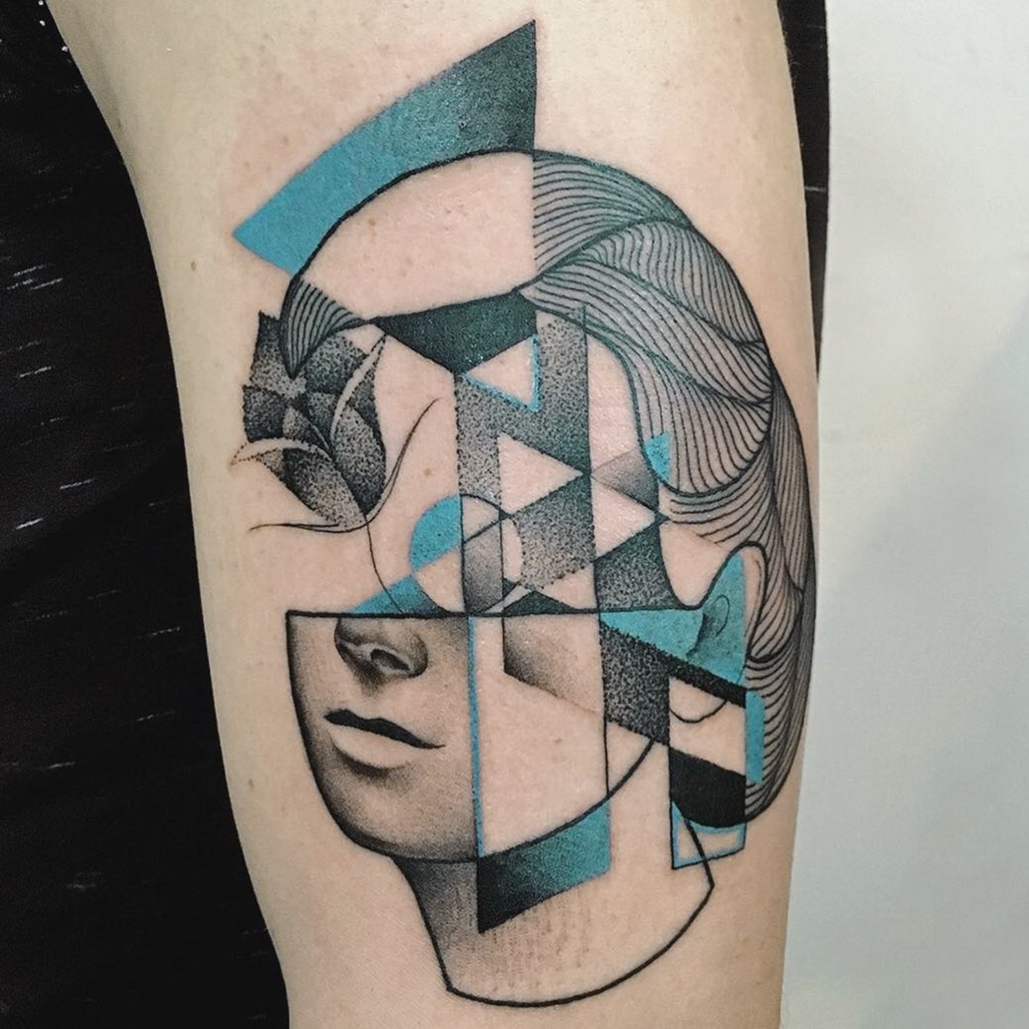 head portrait tattoo