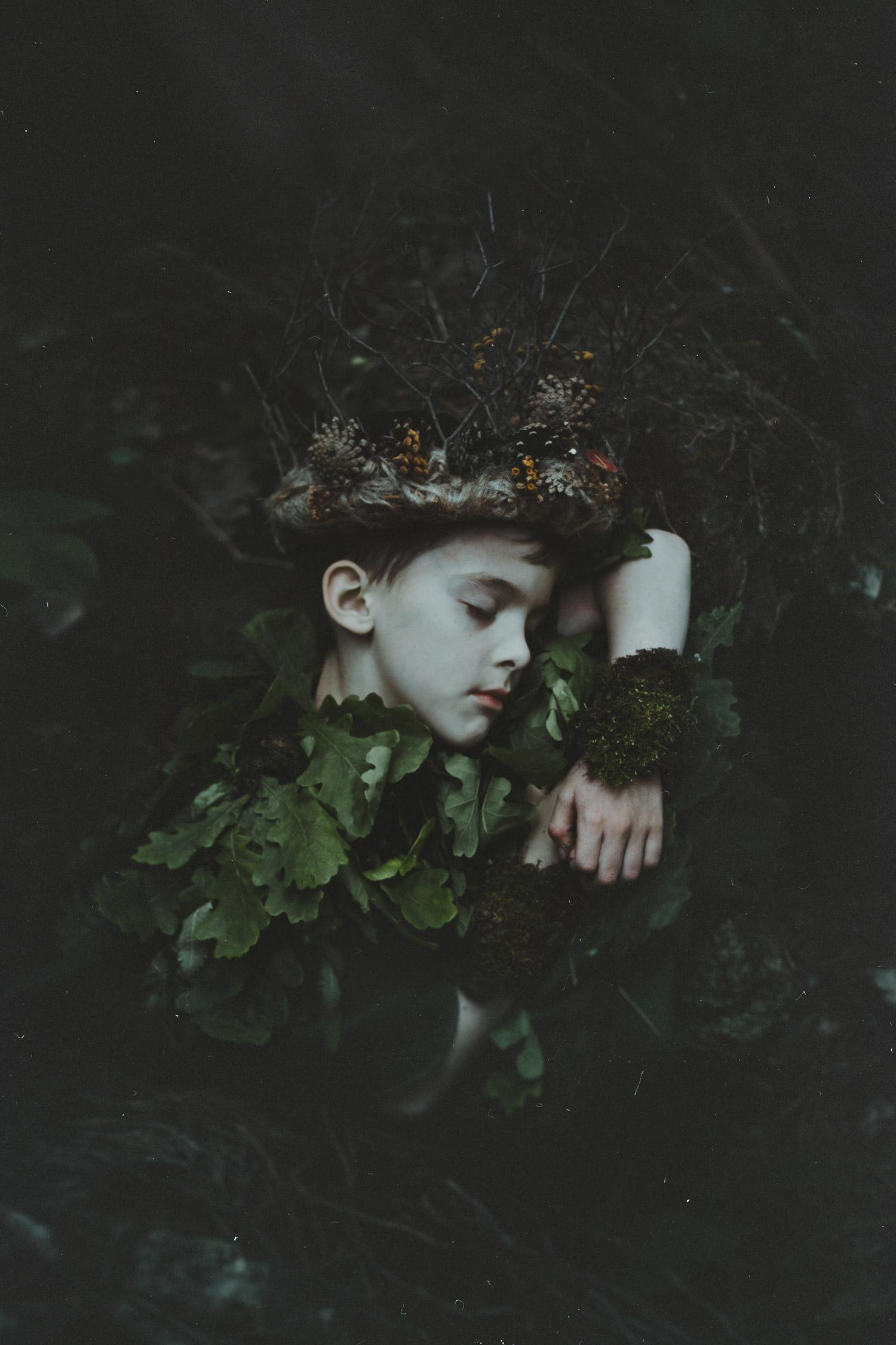 Natalia Drepina - forest boy