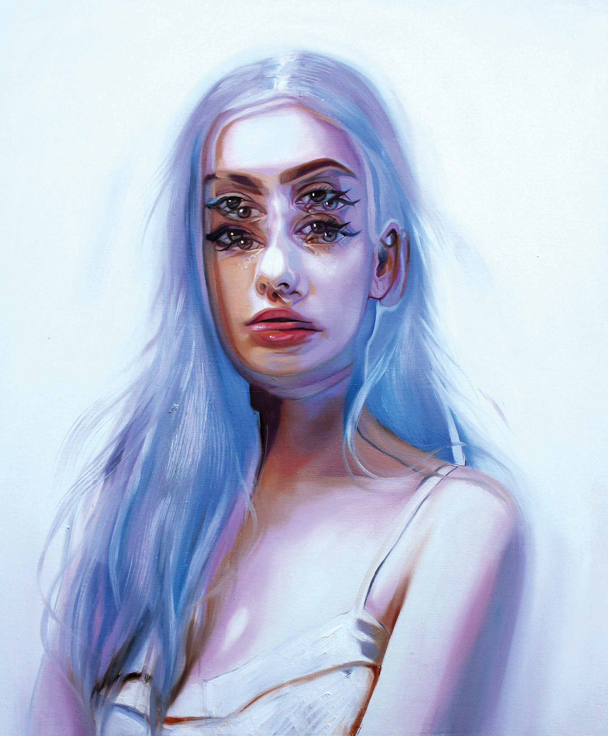 Queen of the Double Eyes: Paintings by Alex Garant