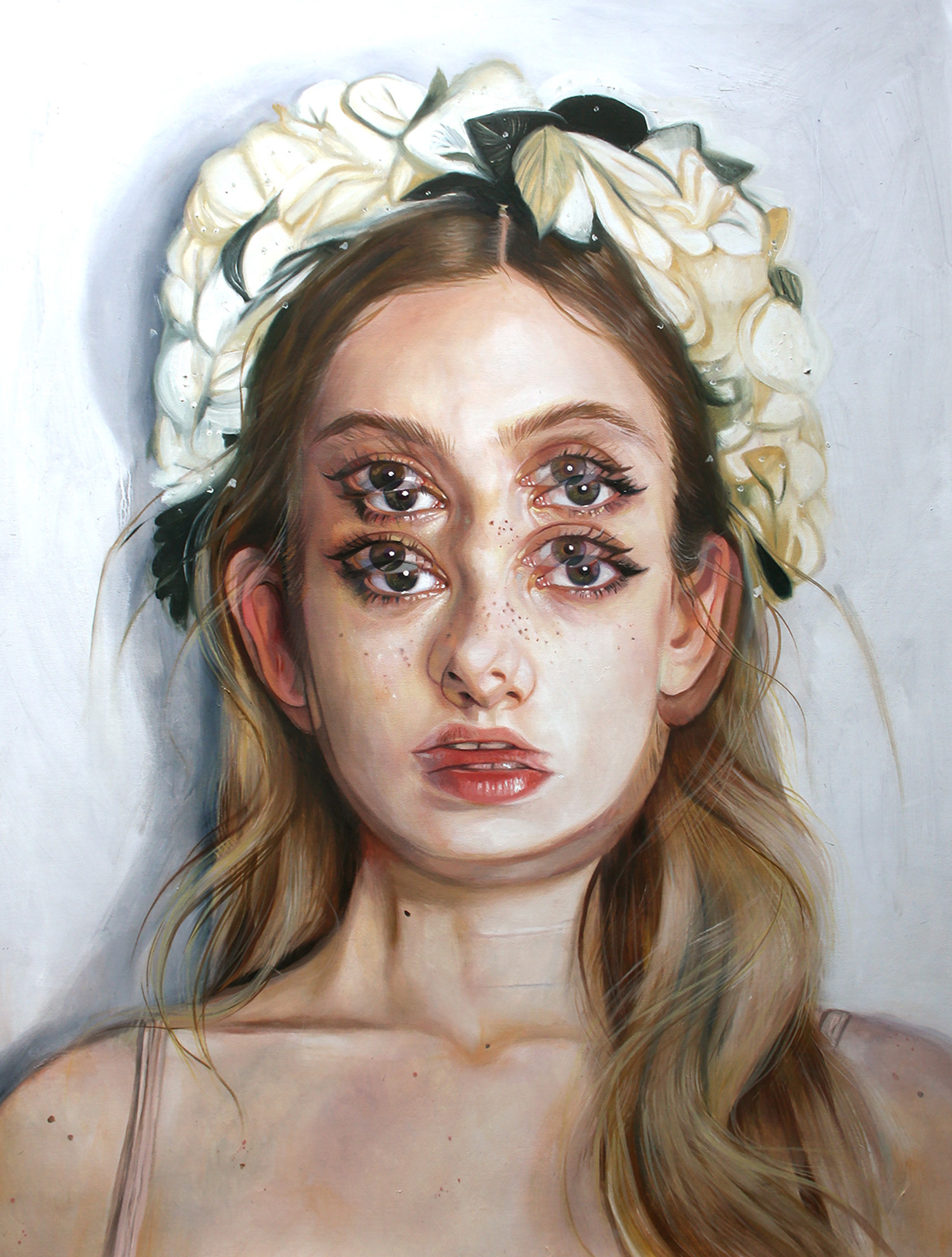 Alex Garant - My Big Life - oil on canvas