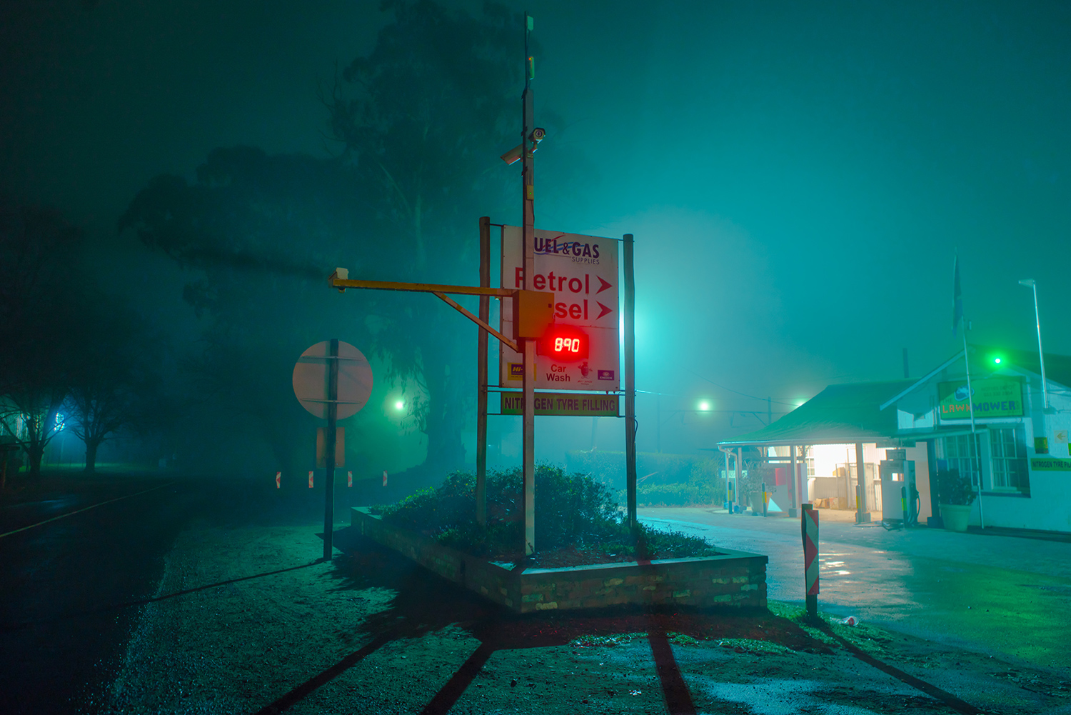 Elsa Bleda - Nottingham Road - sign