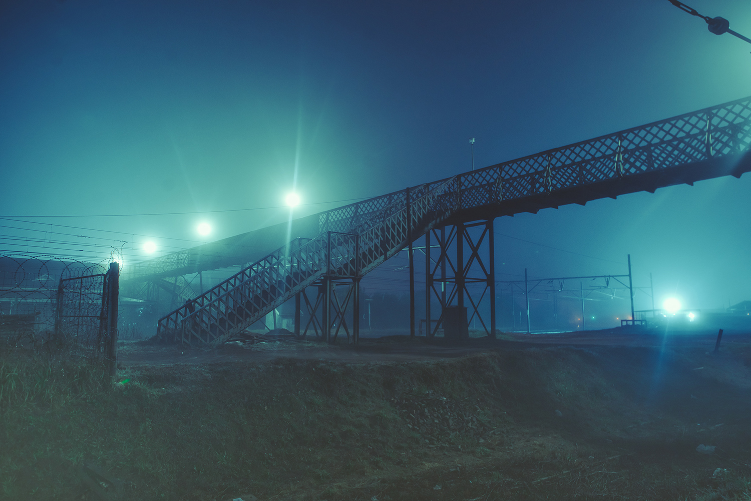 Elsa Bleda - Nottingham Road - bridge