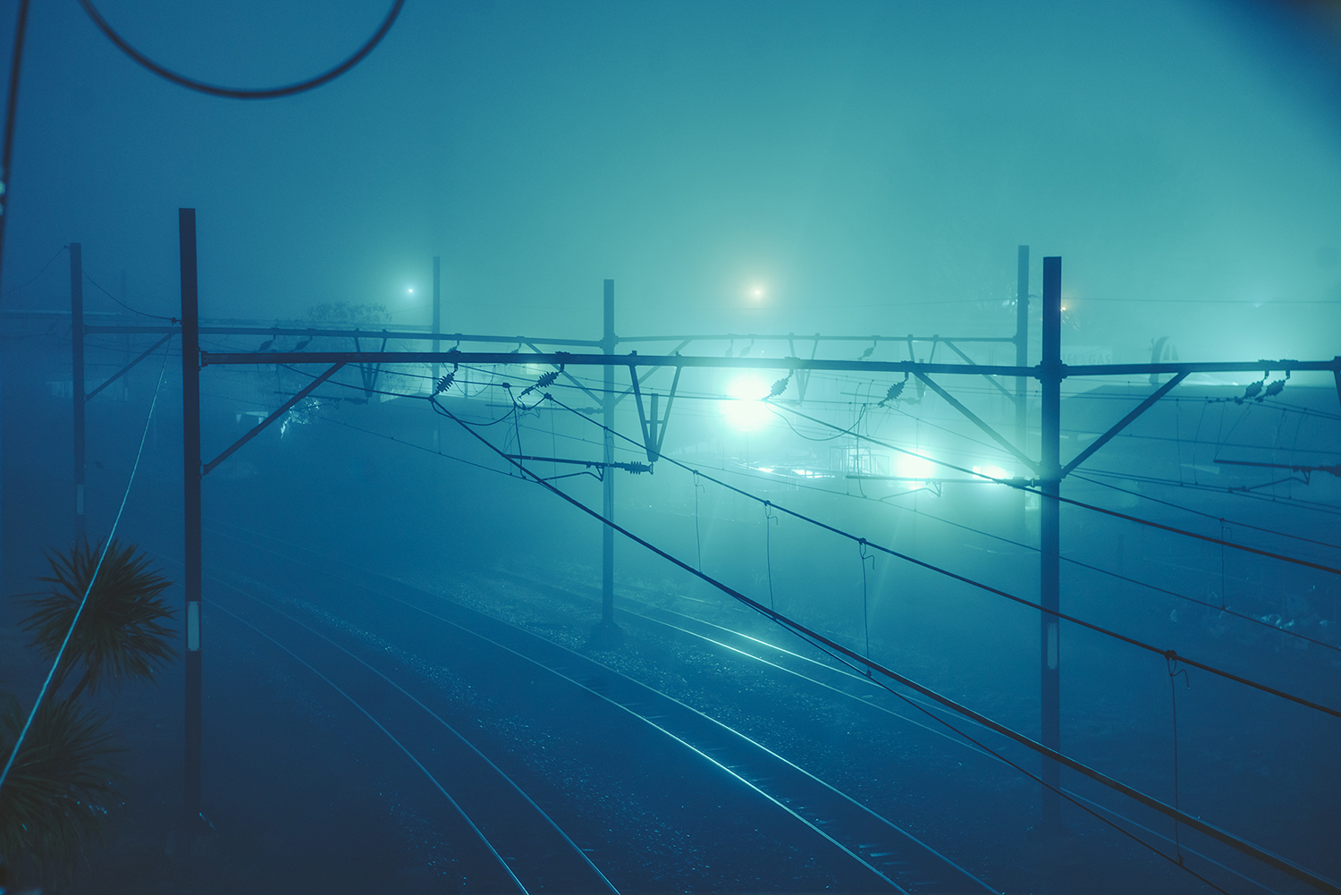 Elsa Bleda - Nottingham Road - train