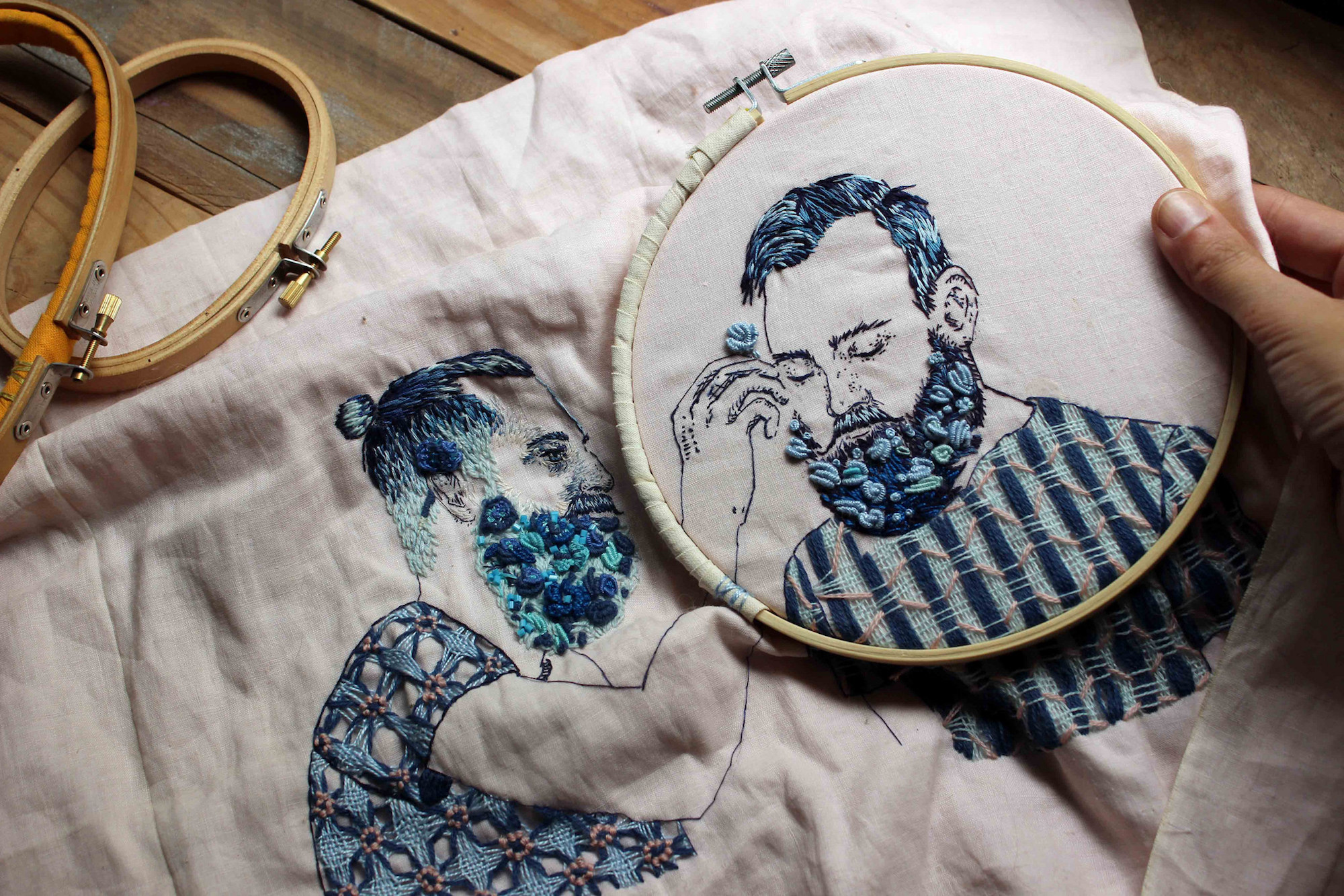 10 Contemporary Embroidery Artists Carrying on the Tradition