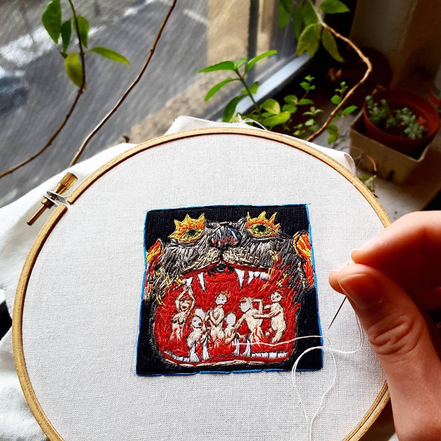 Embroidery by Molly Stern