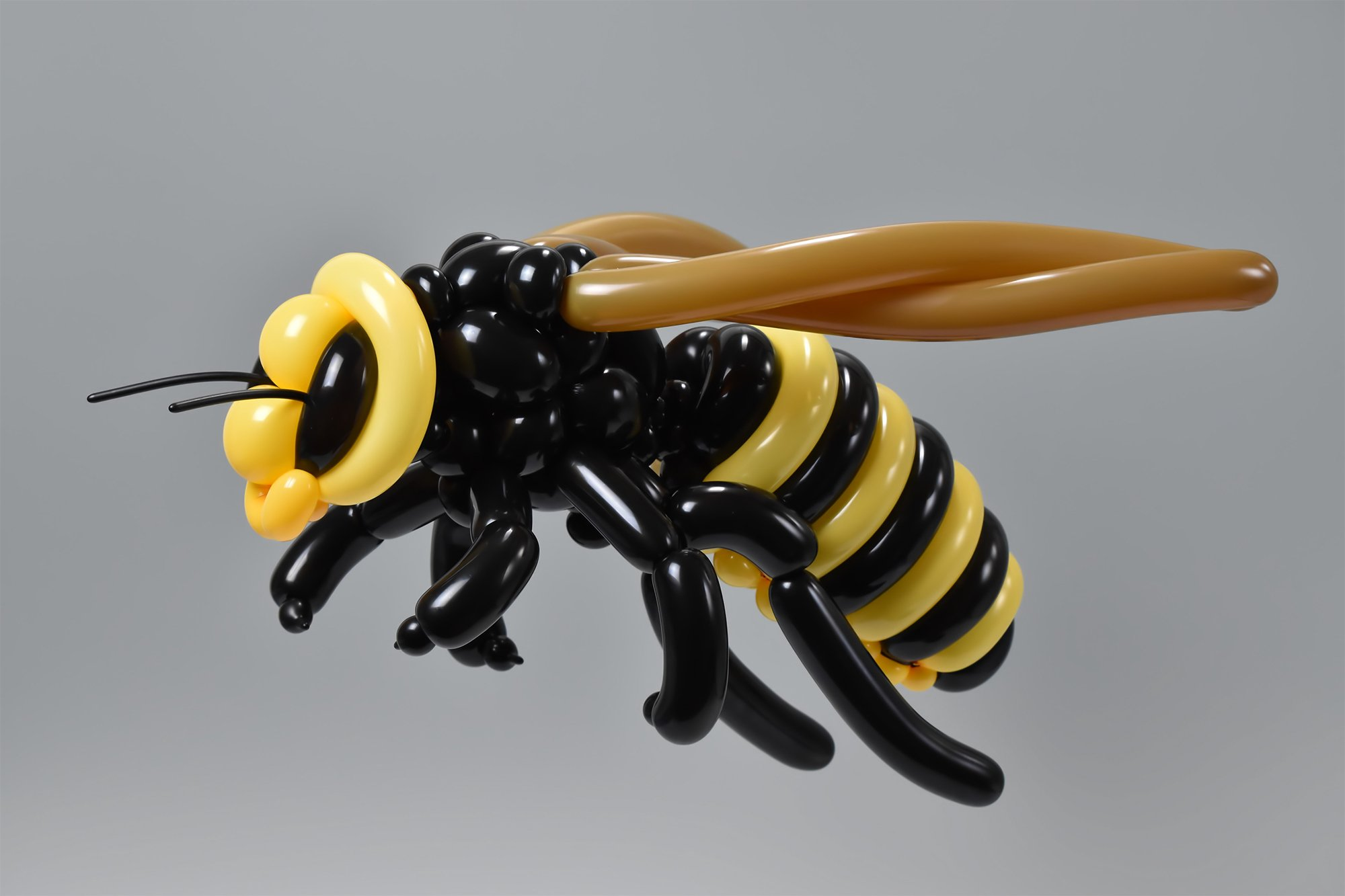 Complex Creatures Crafted Out of Balloons by Masayoshi Matsumoto