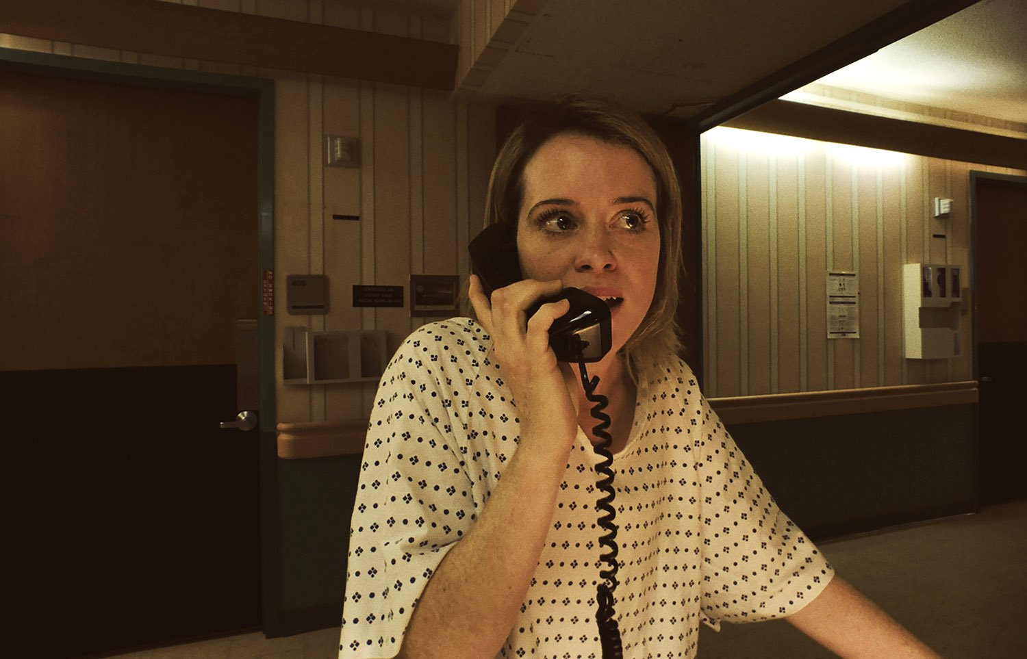 on the phone, movie unsane