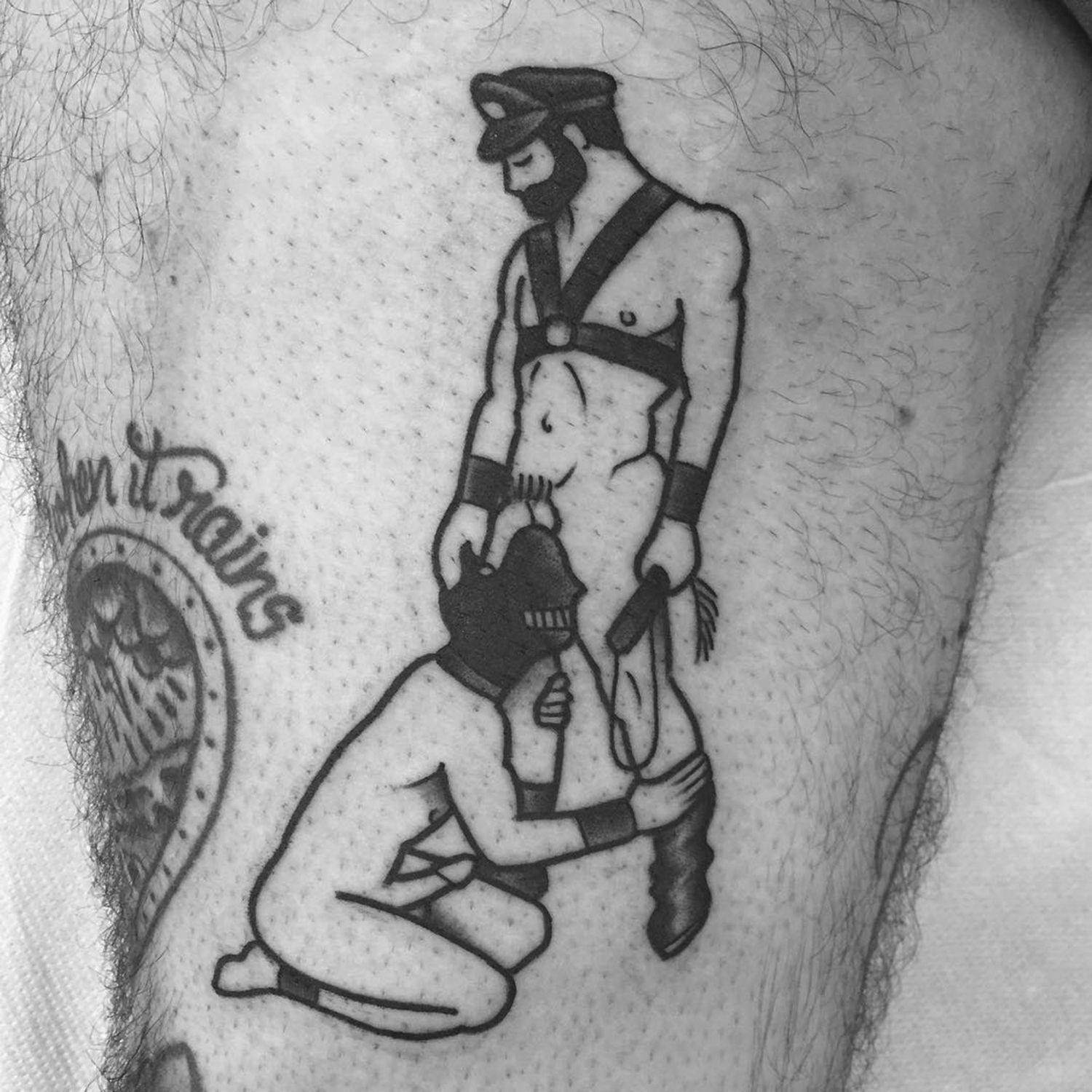 bdsm tattoo