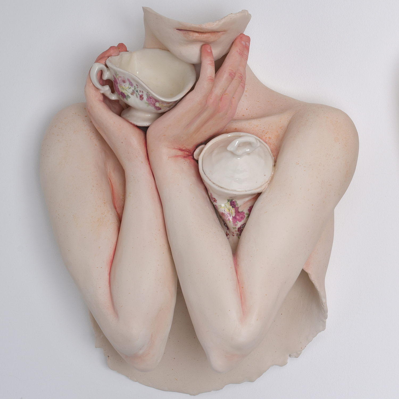 Ronit Baranga - Hollowed Ladies Squeezing Kettles