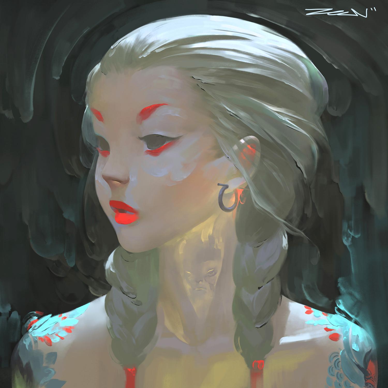 Zeen Chin - Portrait Practice