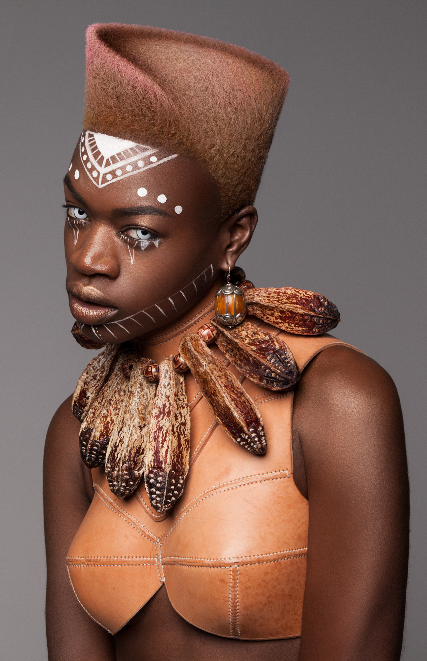 Luke Nugent - British Hair Awards 2016 - Afro Finalist Collection - short hair