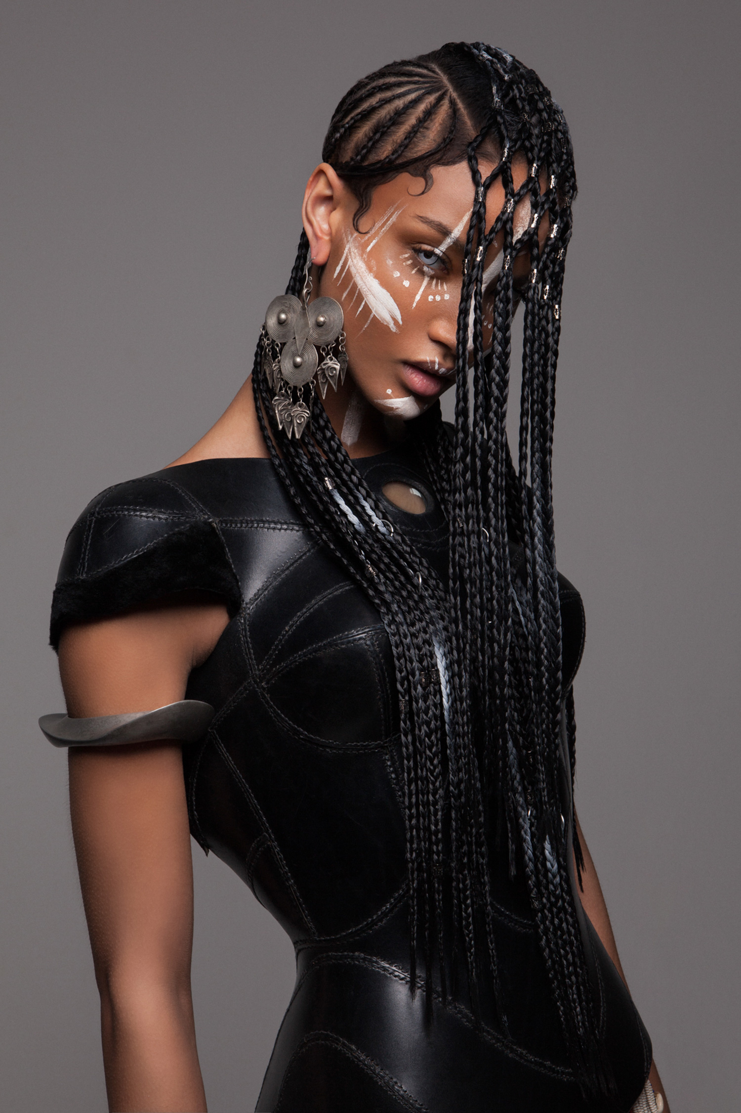 Luke Nugent - British Hair Awards 2016 - Afro Finalist Collection - braids