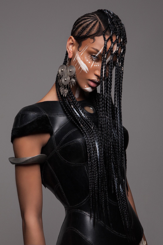 Luke Nugent - British Hair Awards 2016 - Afro Finalist Collection - braids