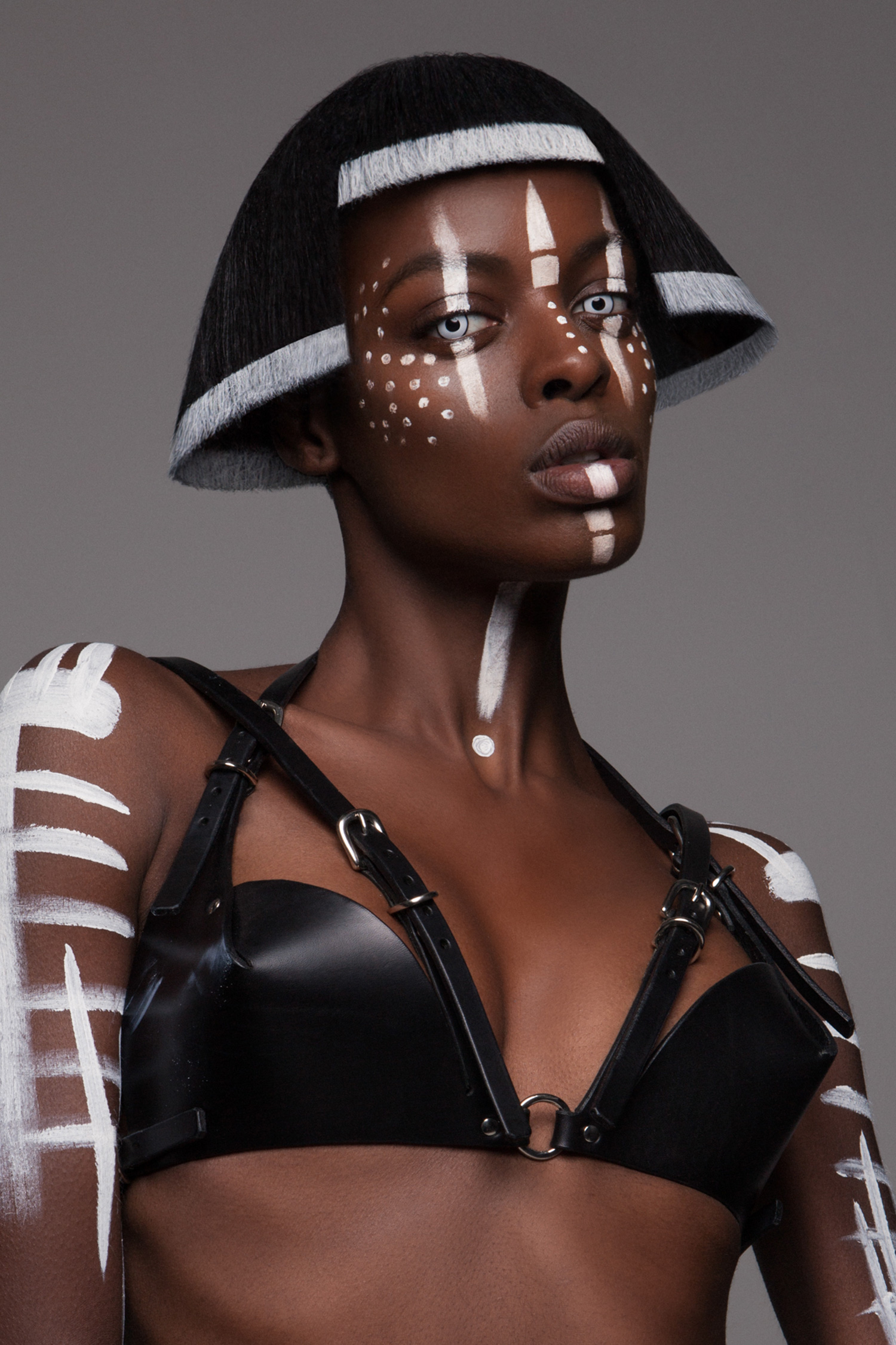 Luke Nugent - British Hair Awards 2016 - Afro Finalist Collection - round cut