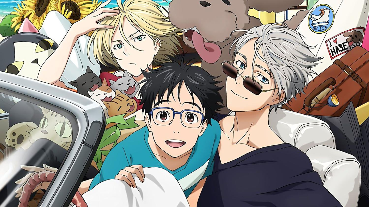 lgbt anime movie, Yuri on Ice The Movie