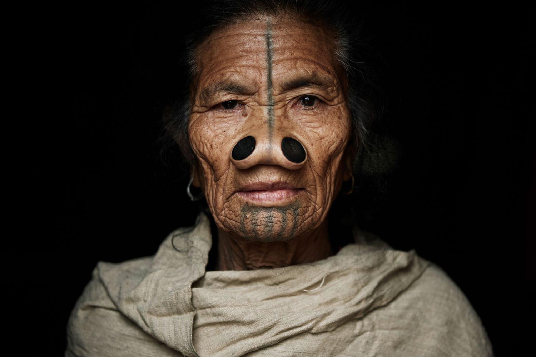 Adam Koziol - Apatani tribe, portrait