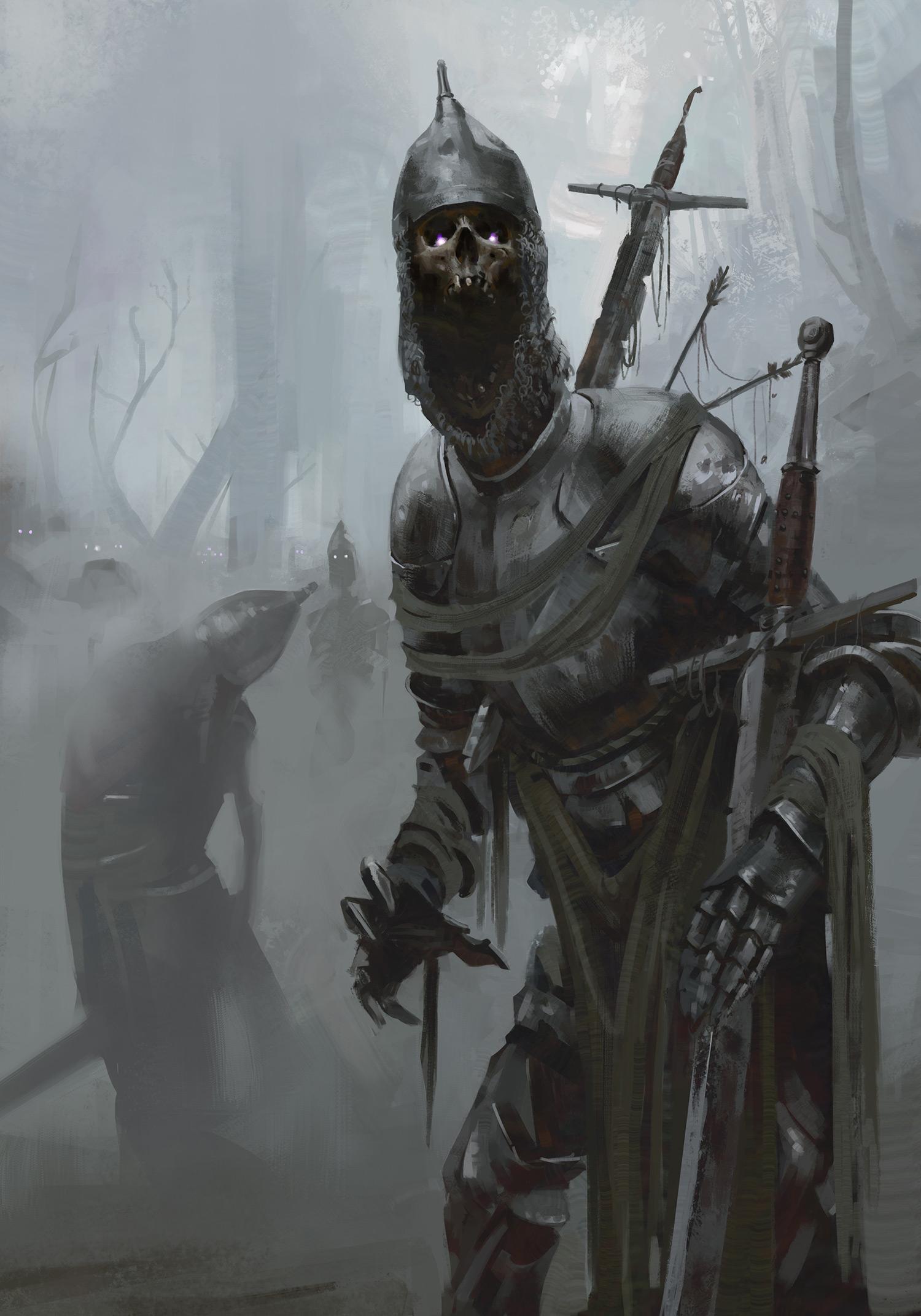 Axel Sauerwald - Undead Knights