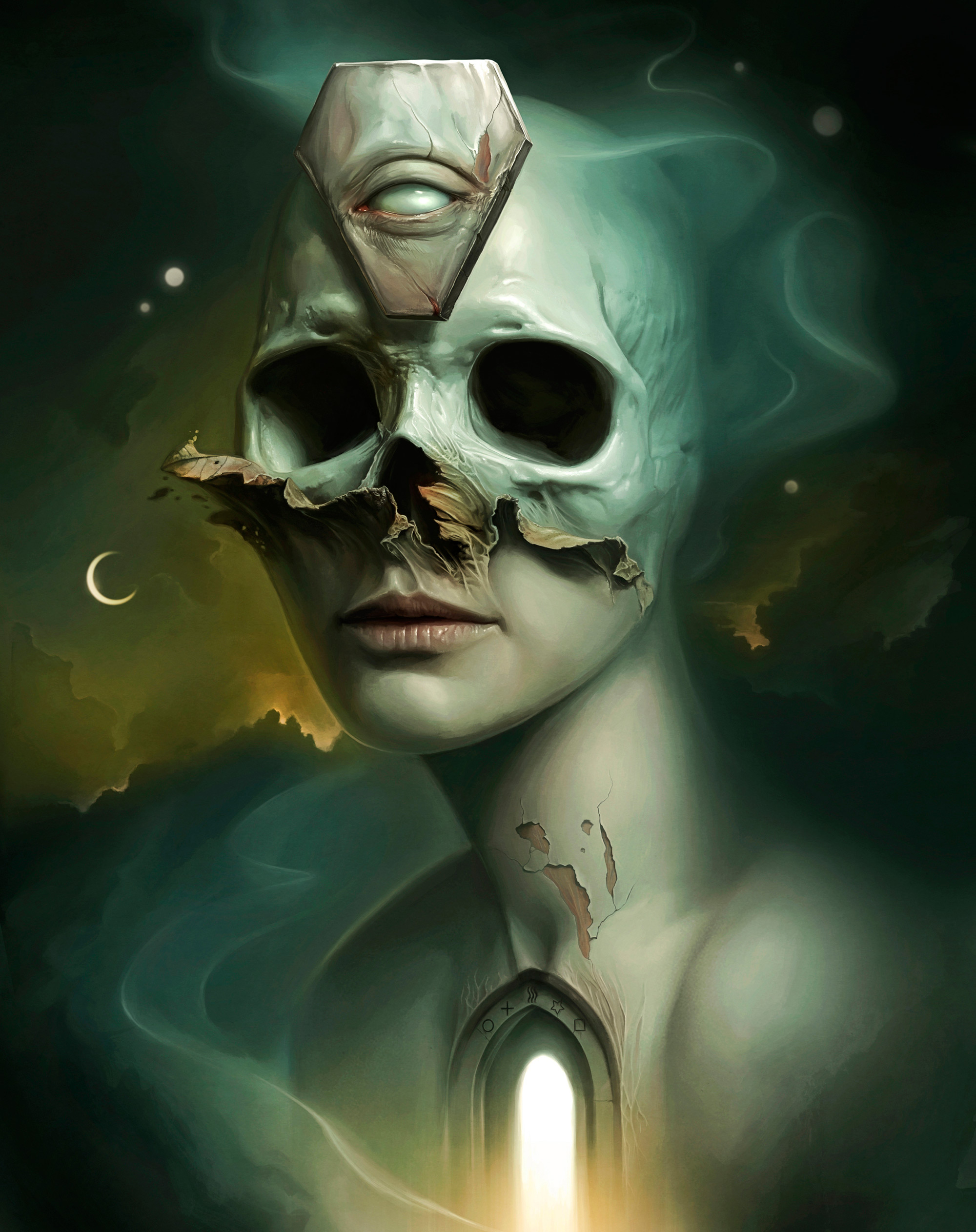 Macabre, Supernatural Digital Paintings by David Seidman