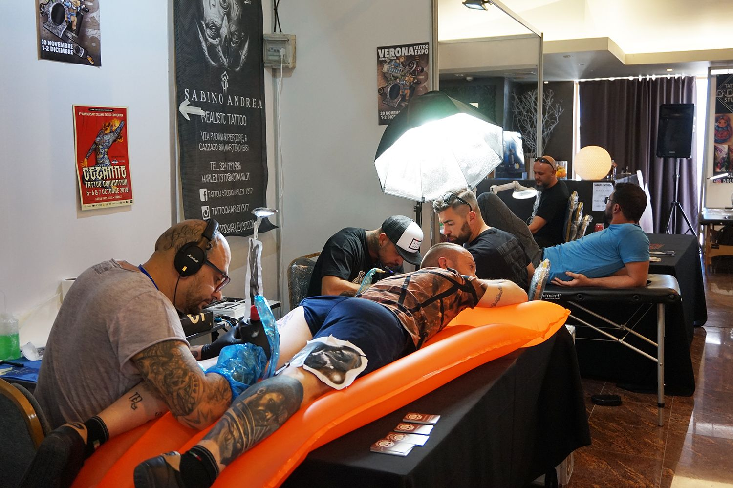 tattooing, inflatable