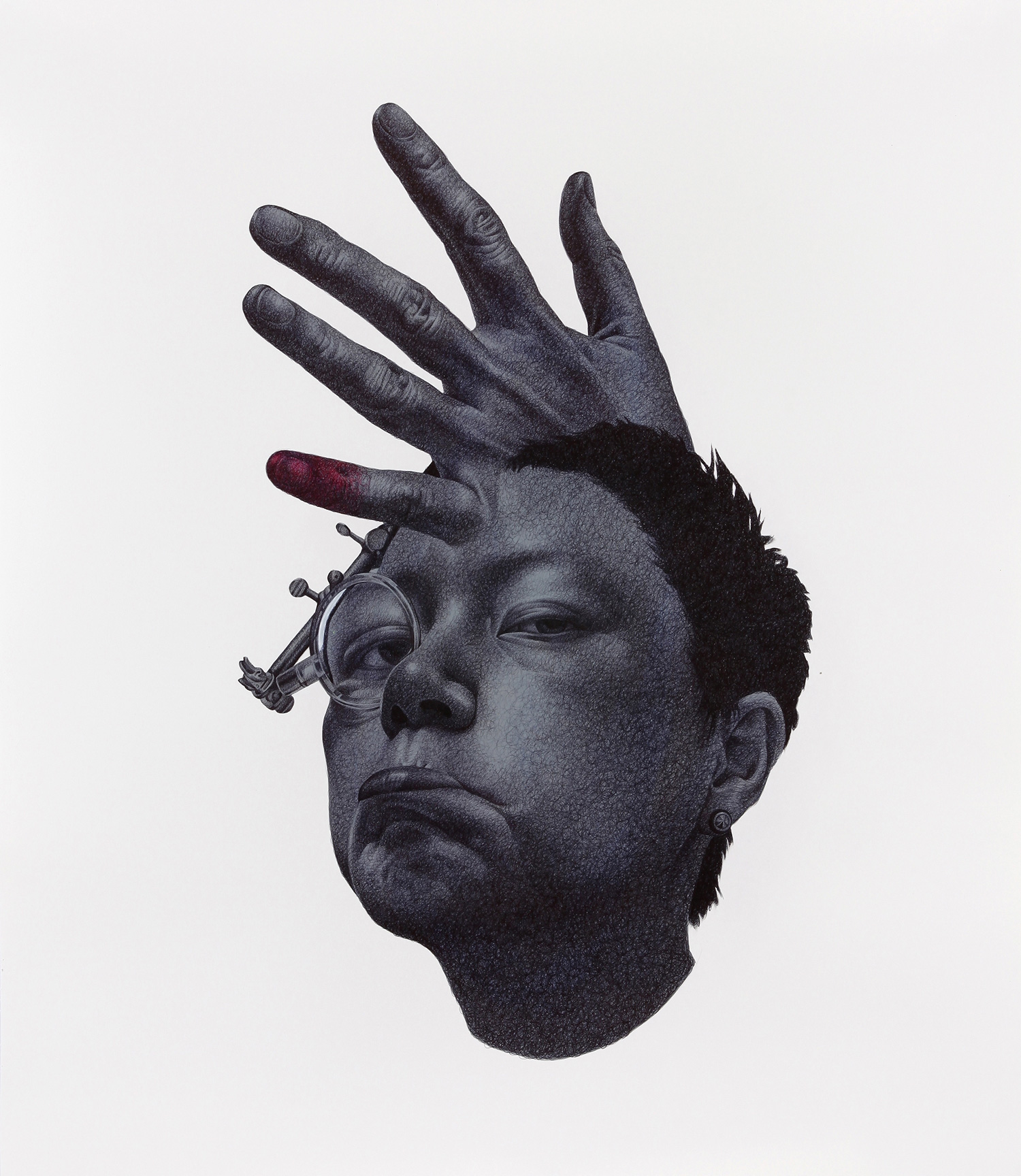 Seungyea Park - a hand caught in the time of the space