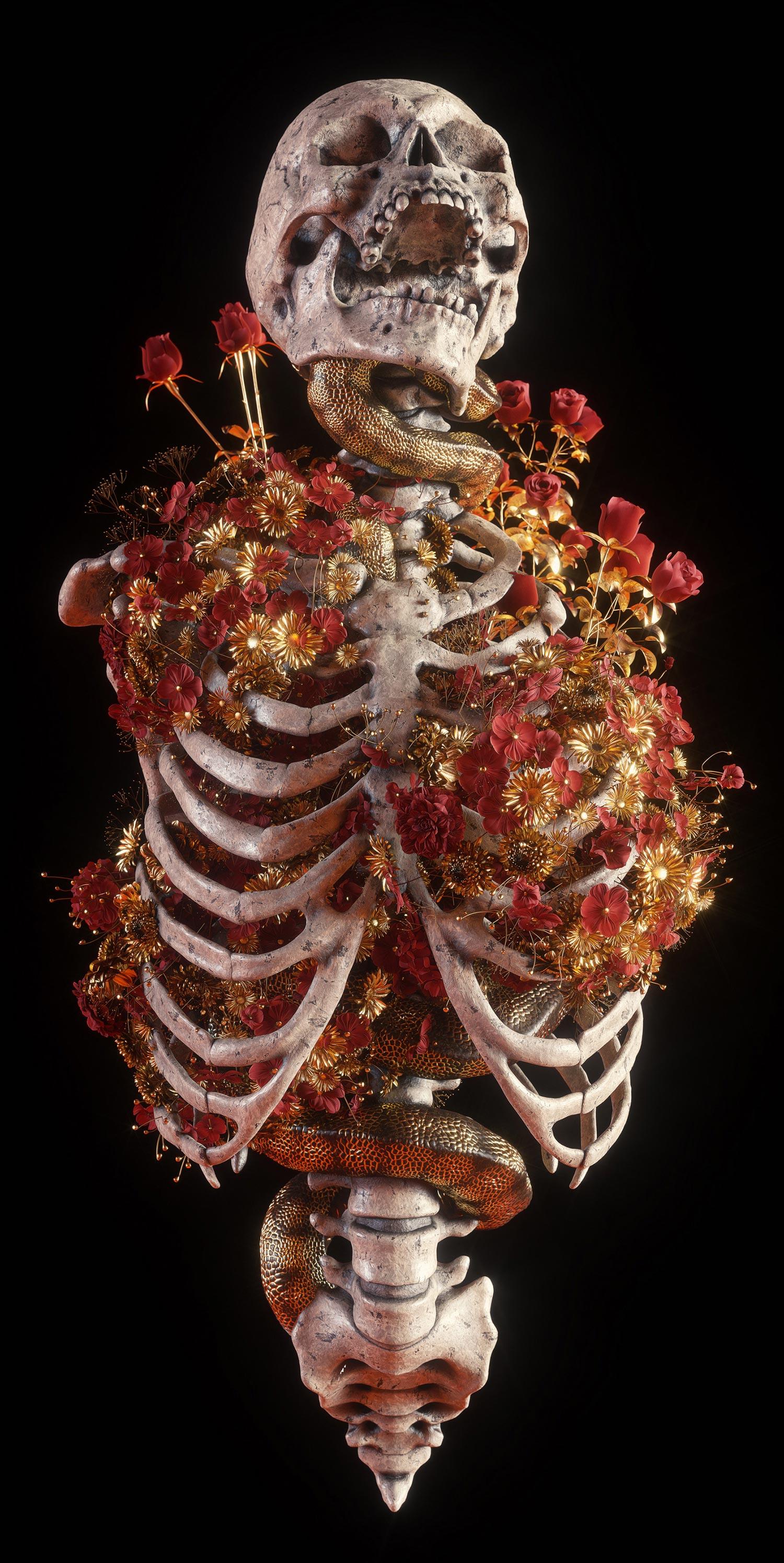 Billelis - Blossom ribcage