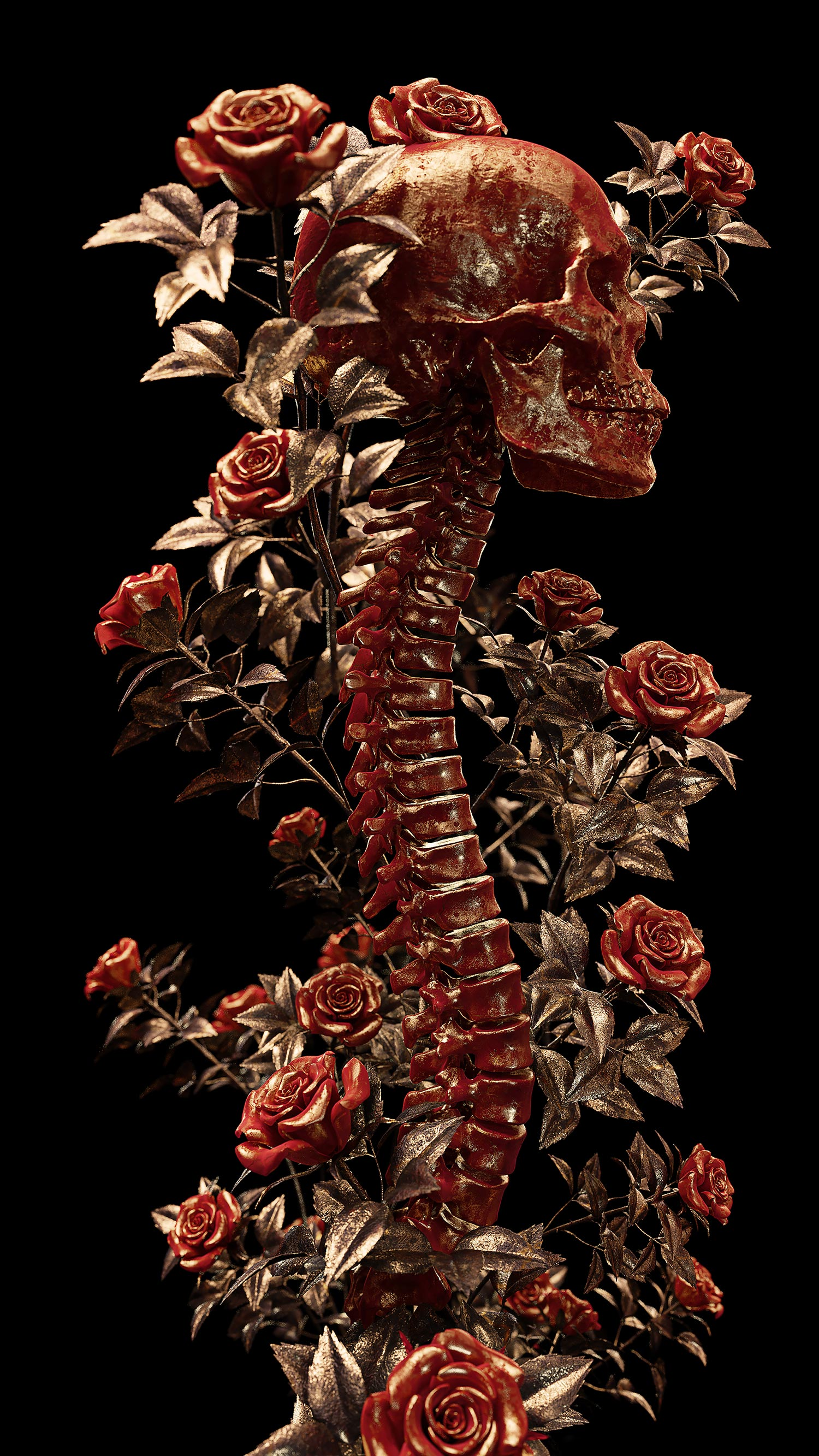 Billelis - spine and flowers