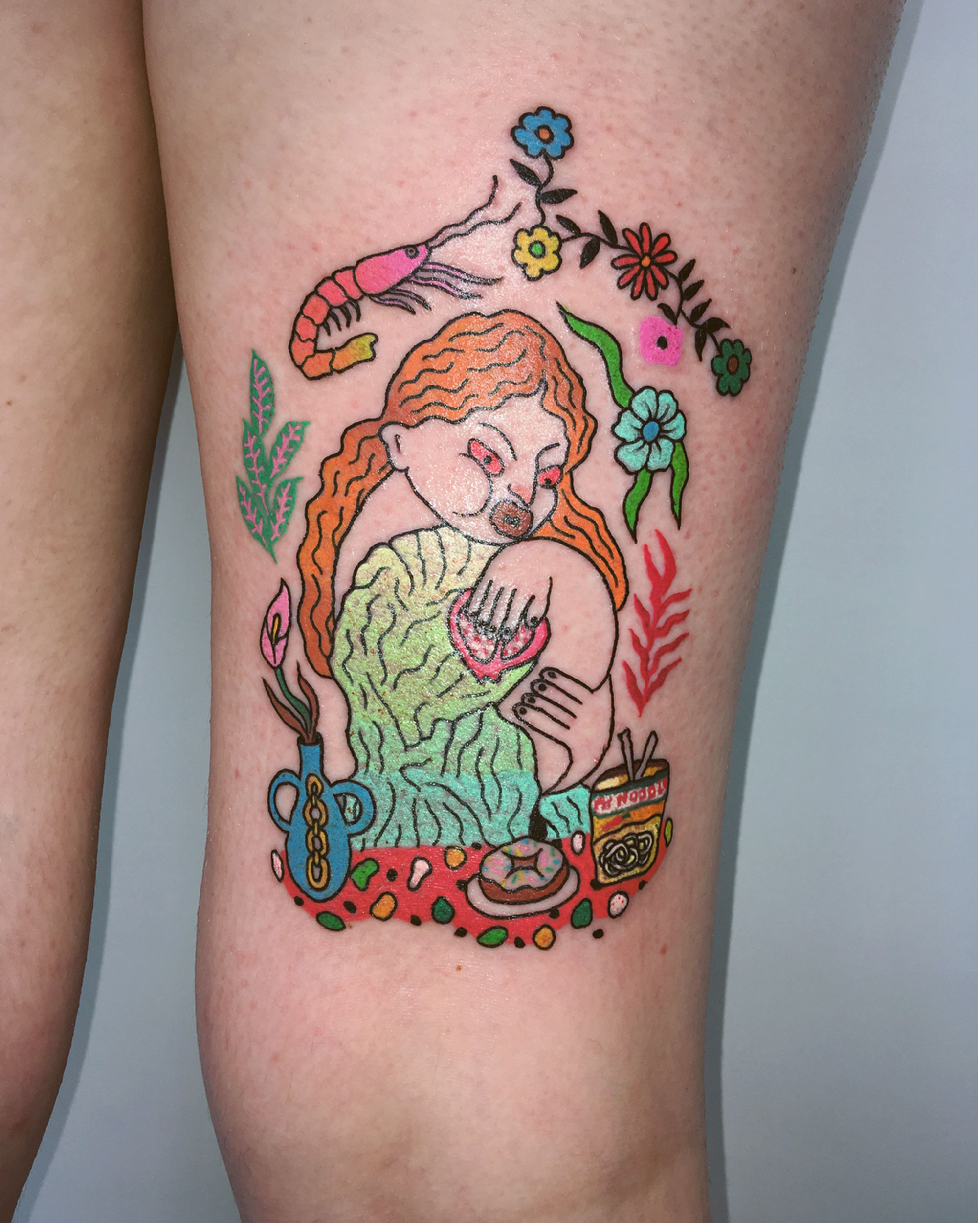 Raw and Empowering Queer Feminist Tattoos by Charline Bataille