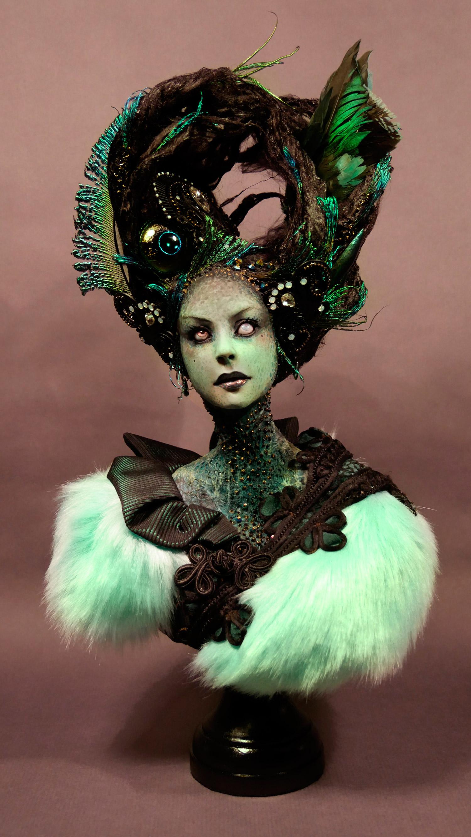 Virginie Ropars - Evil Eye doll sculpture