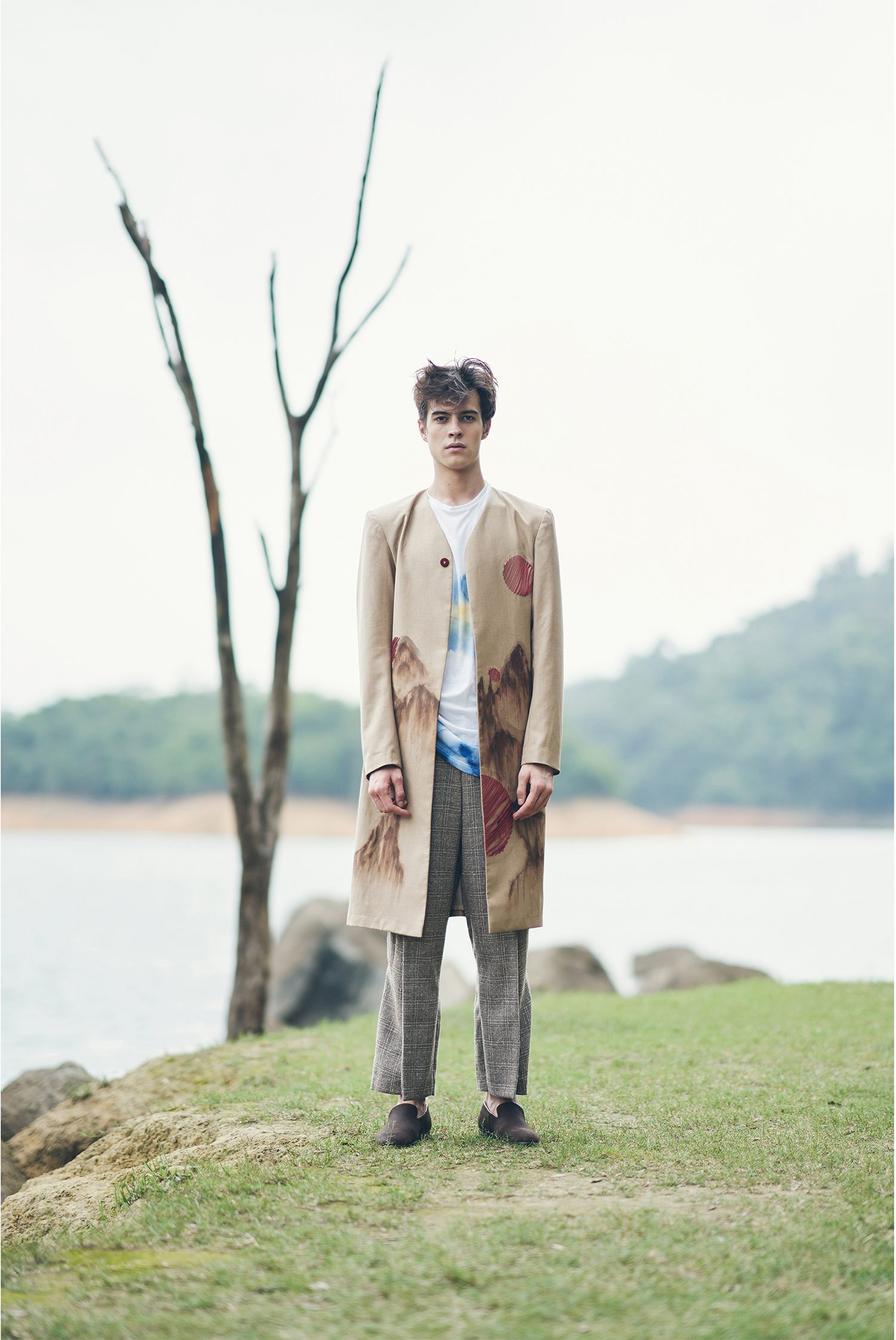 Wanderlust In Wilderness Menswear Collection by Celia Ng