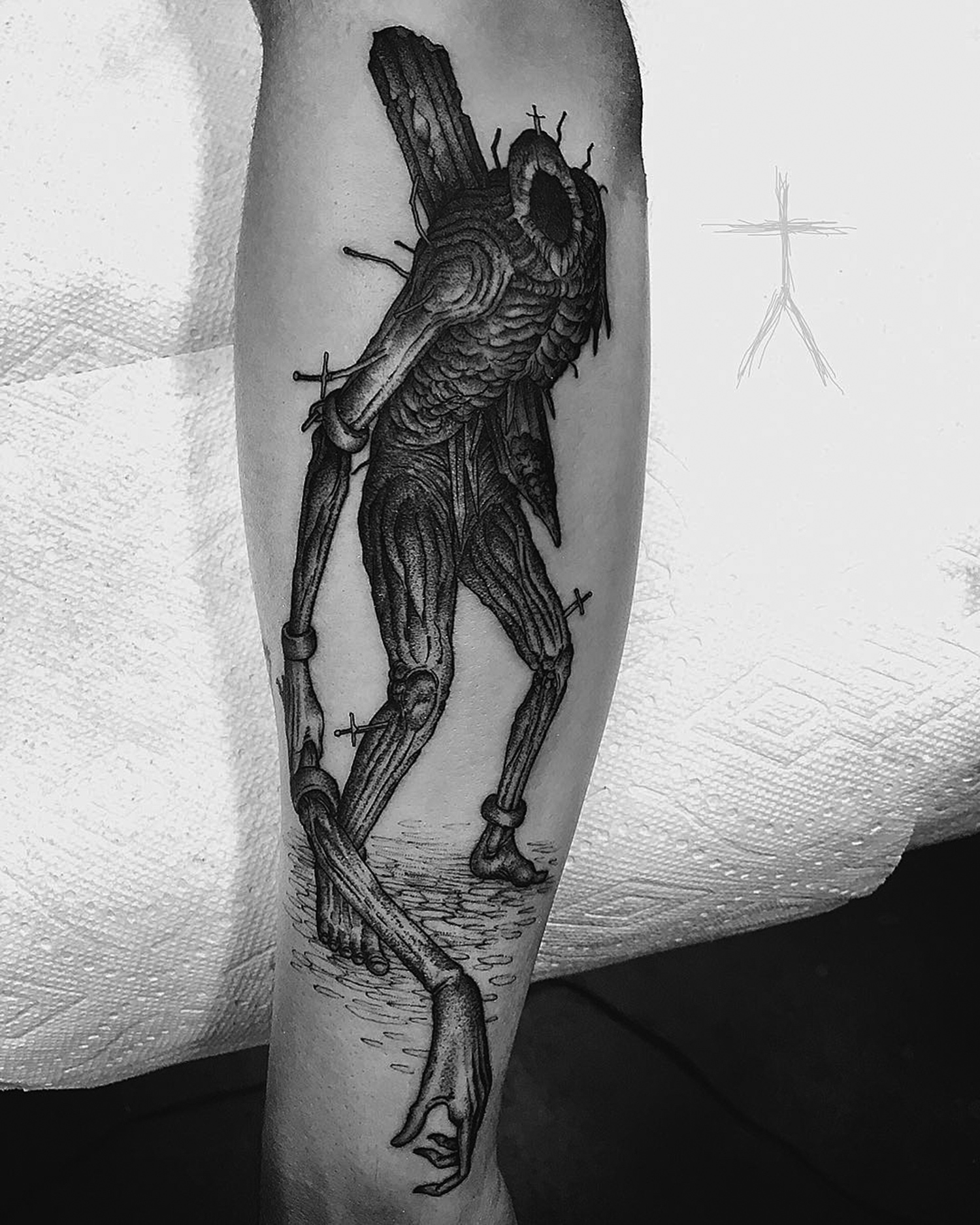 Christopher Jade tattoo - medieval mutant