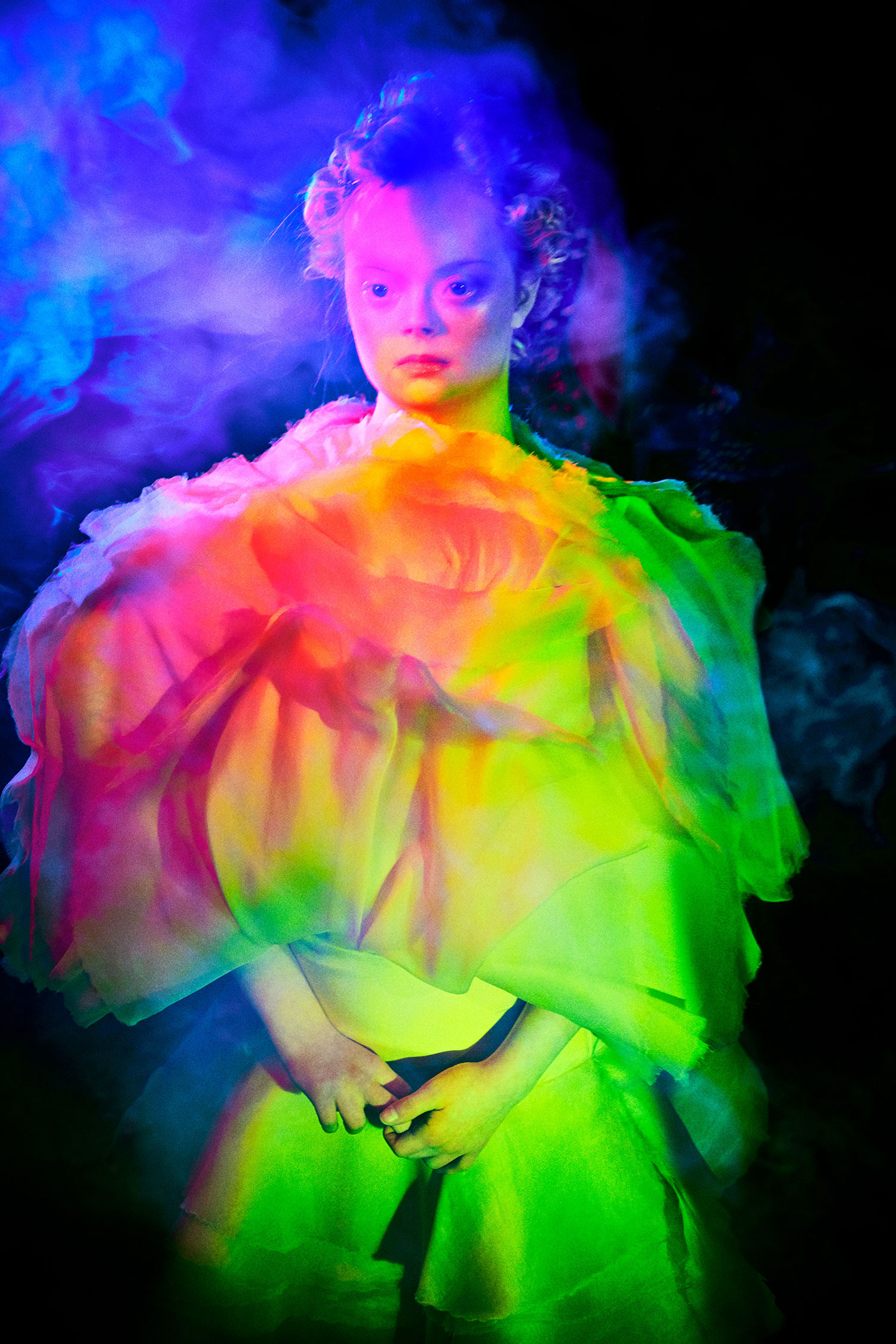 Elizaveta Porodina - Lily Moore, fashion portrait