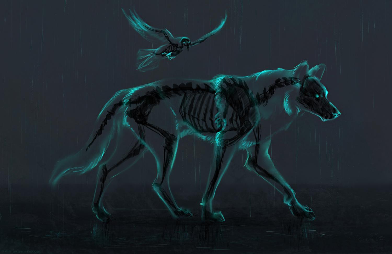 Jade Mere - skeleton tiger