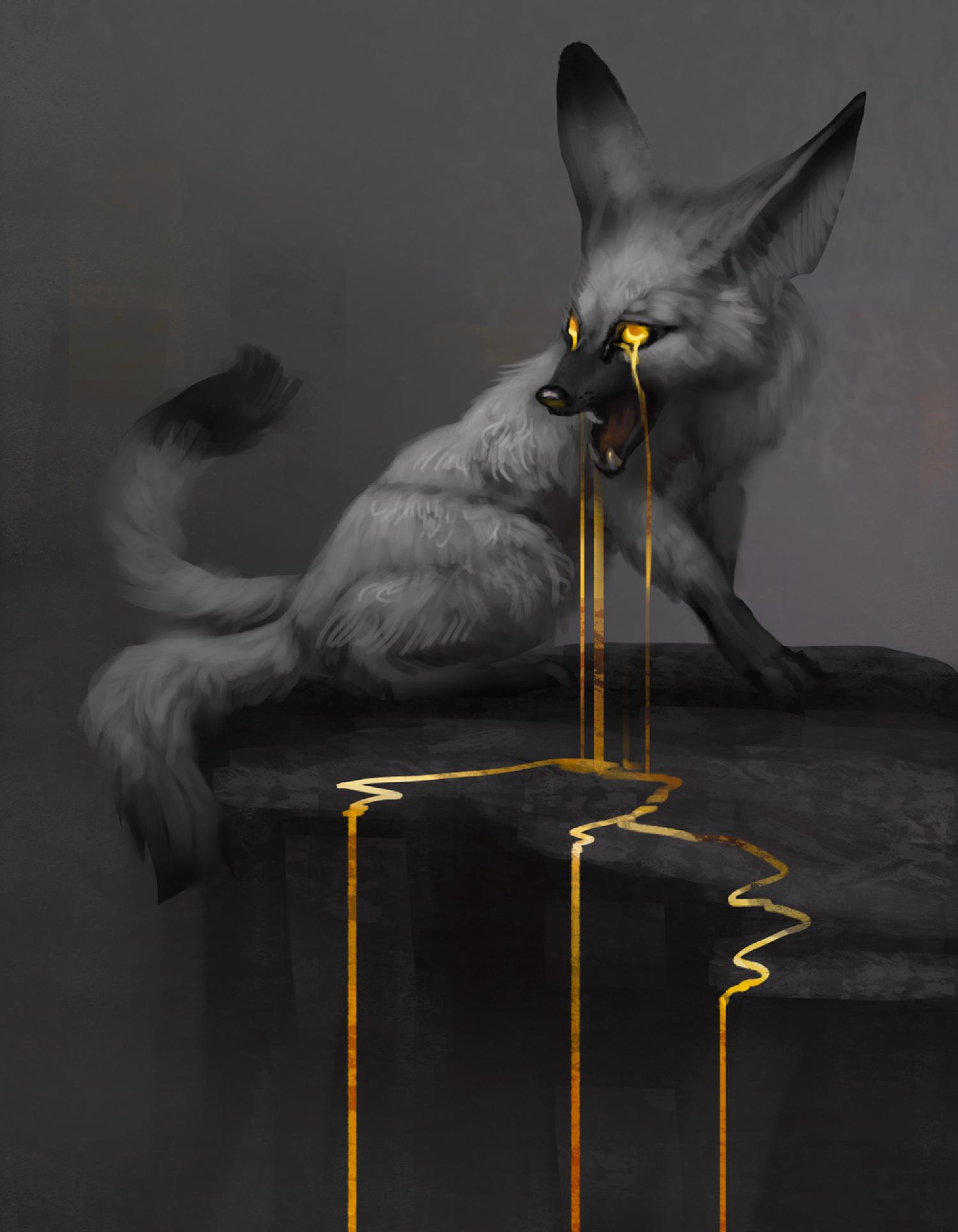 Jade Mere - Gold Drop fox