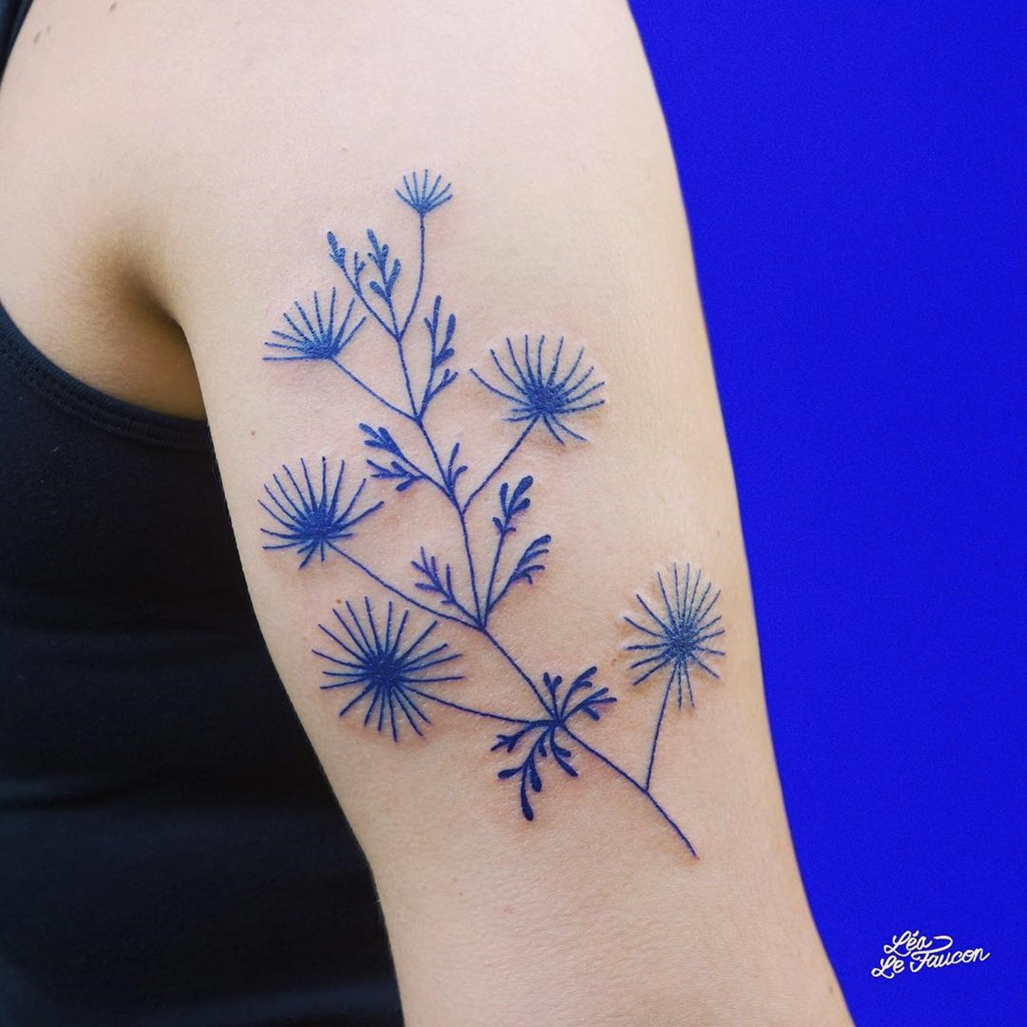 flower tattoos on arm