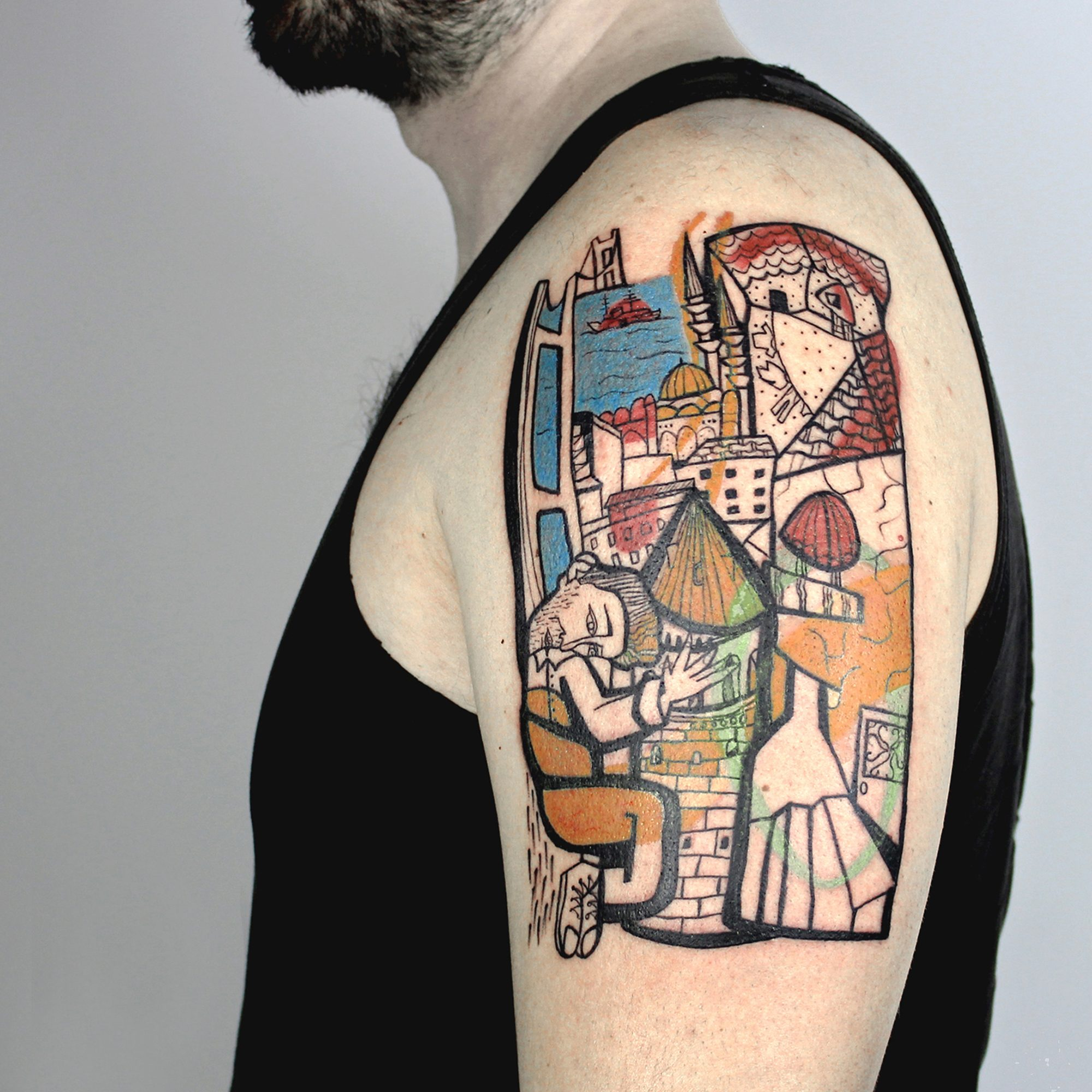 Remakes & Modernism by Mess Tattoos