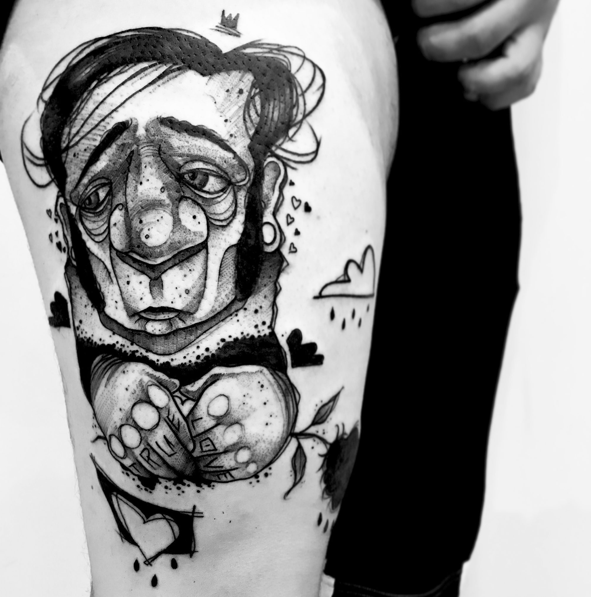 From Graffiti to Tattooing: The Body Art of Ninne Oat
