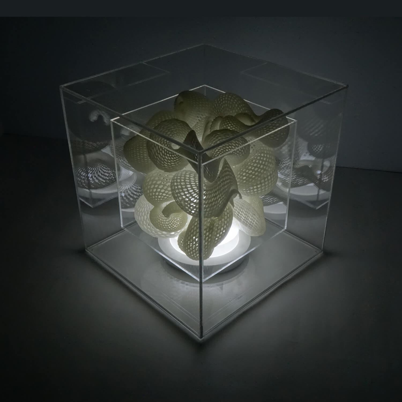 Hurricane Desktop Lighting Installation by Naai-Jung Shih
