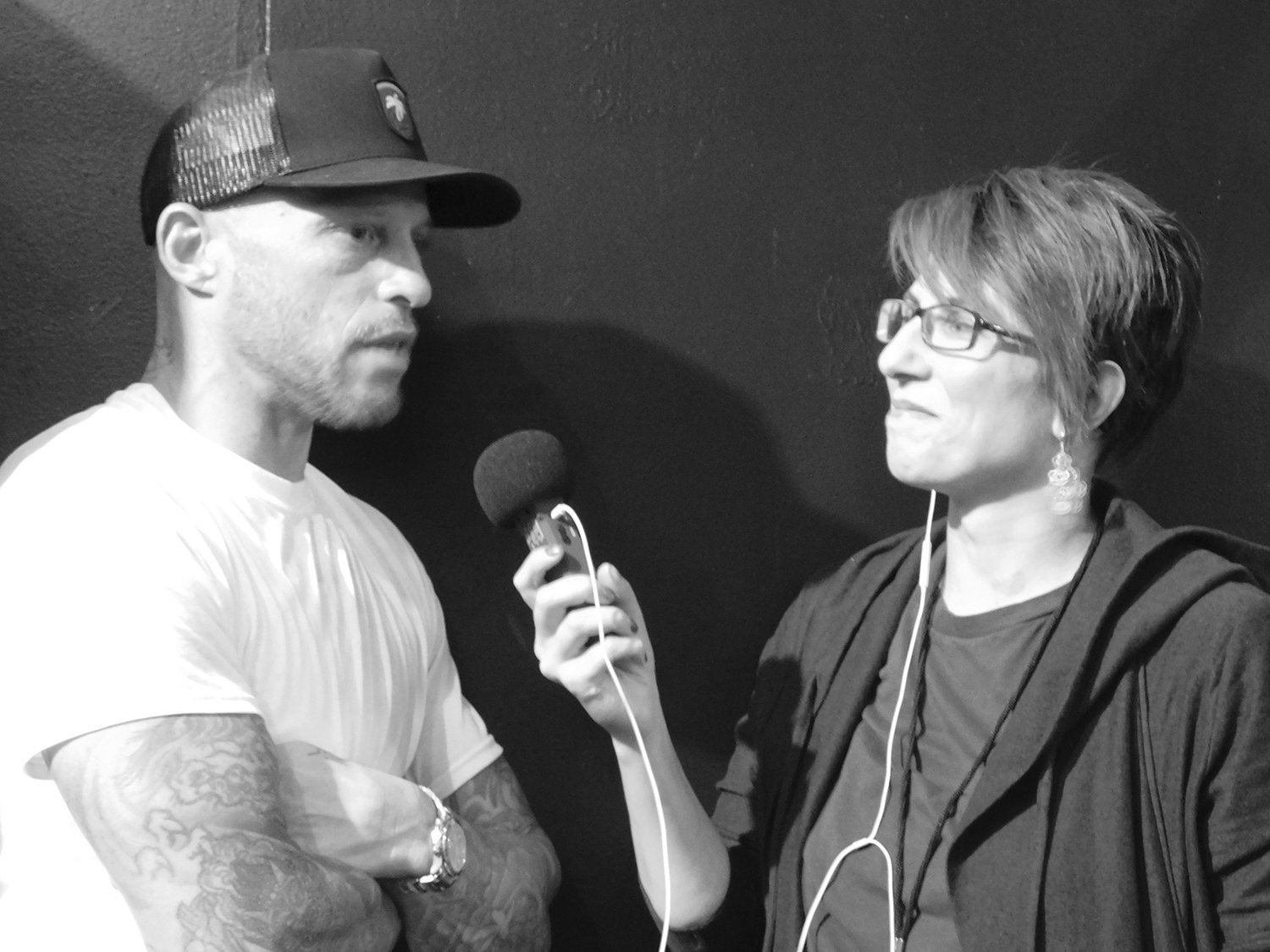 Ami james interview and adriana de barros