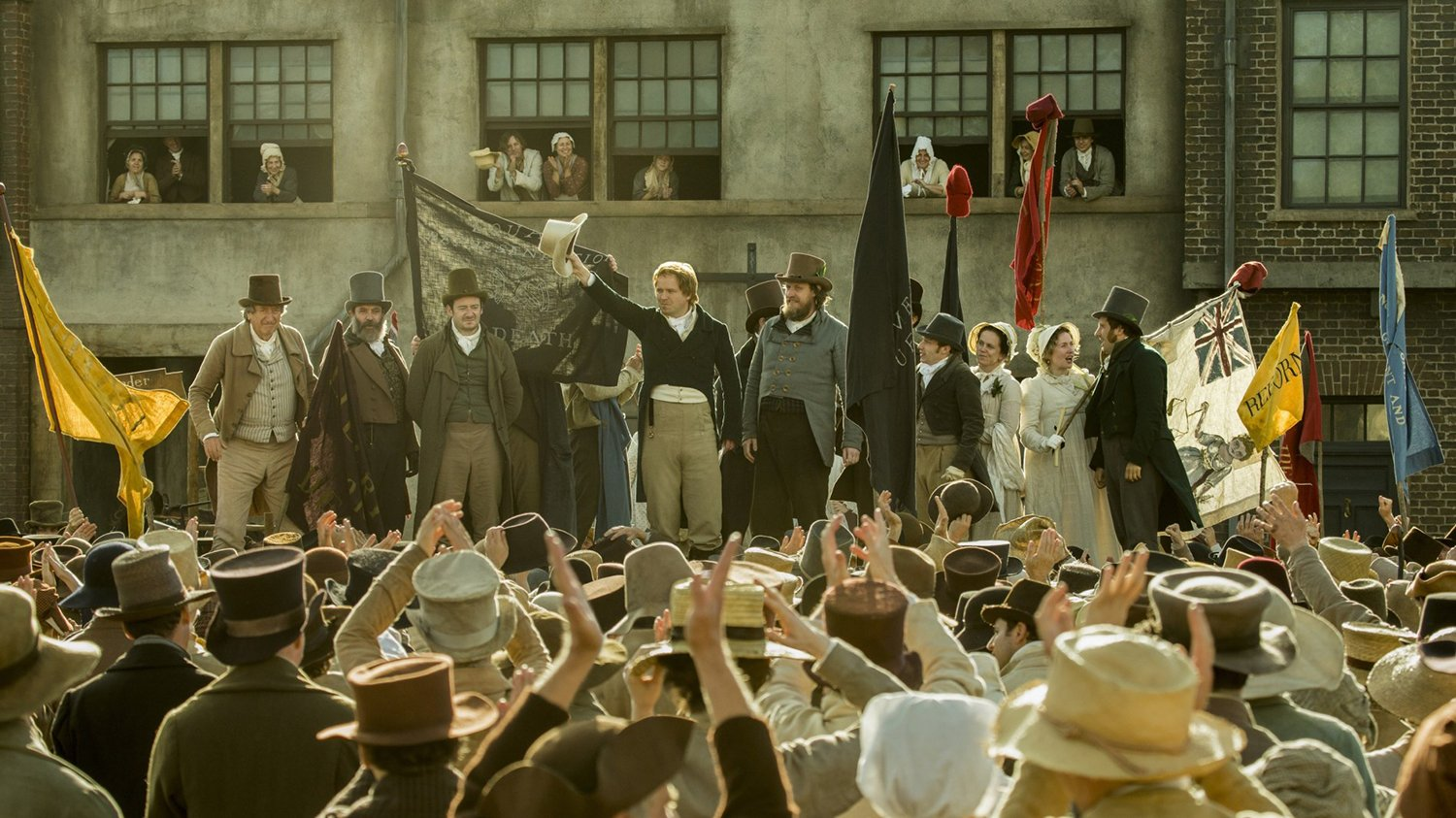 film still from peterloo