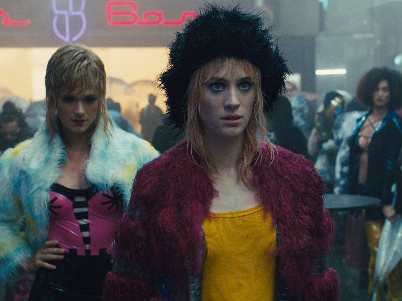 futuristic, apocalyptic costume design blade runner