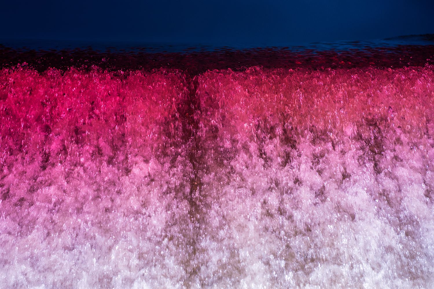 waterfall, ice, pink