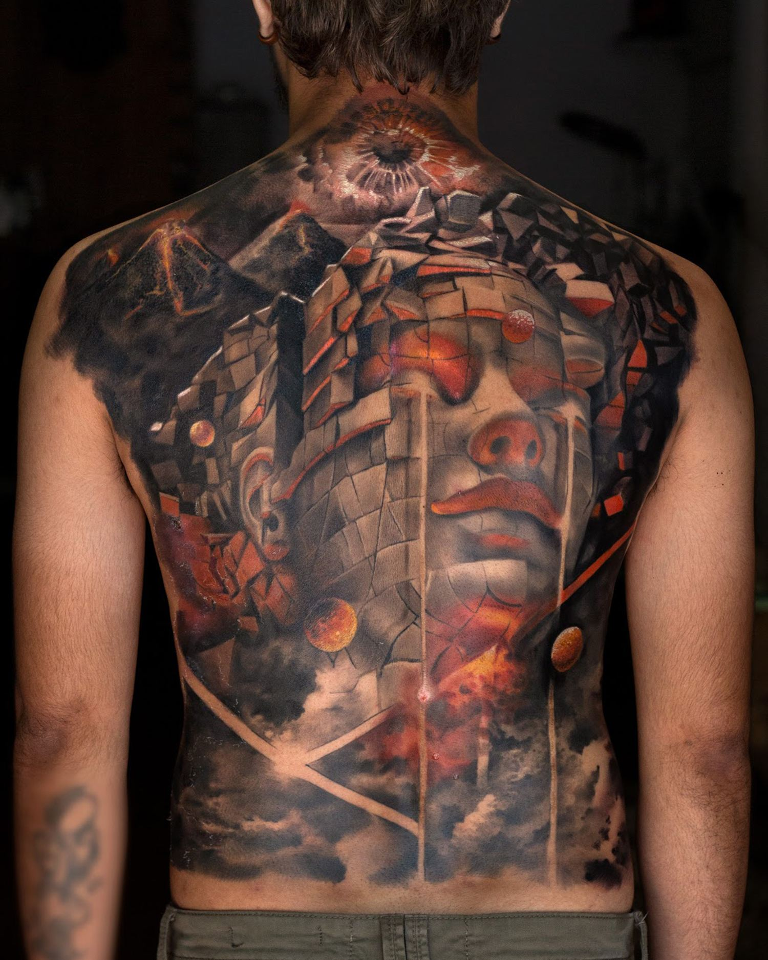 epic back tattoo, india tattooer