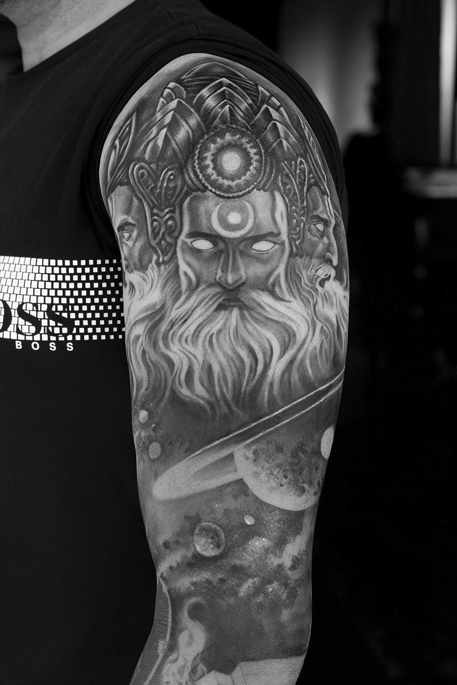 indian mythology tattoo
