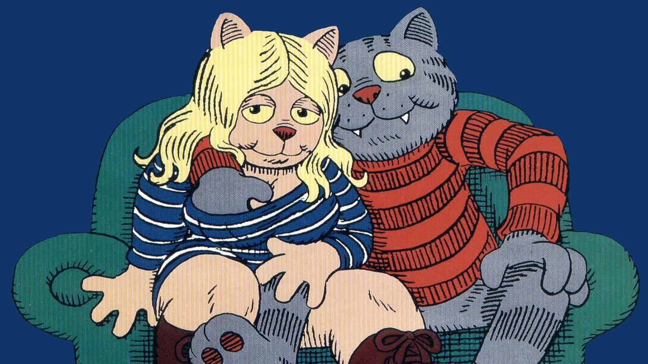cartoons, Fritz the Cat