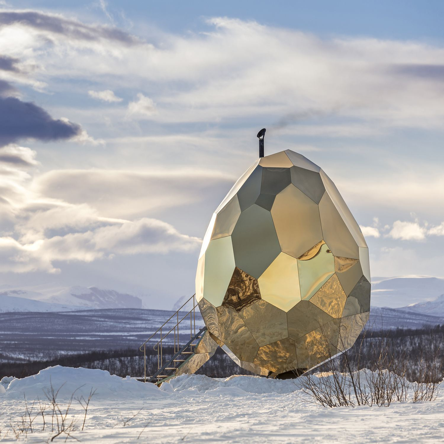solar egg by by Futurniture and Bigert & Bergström