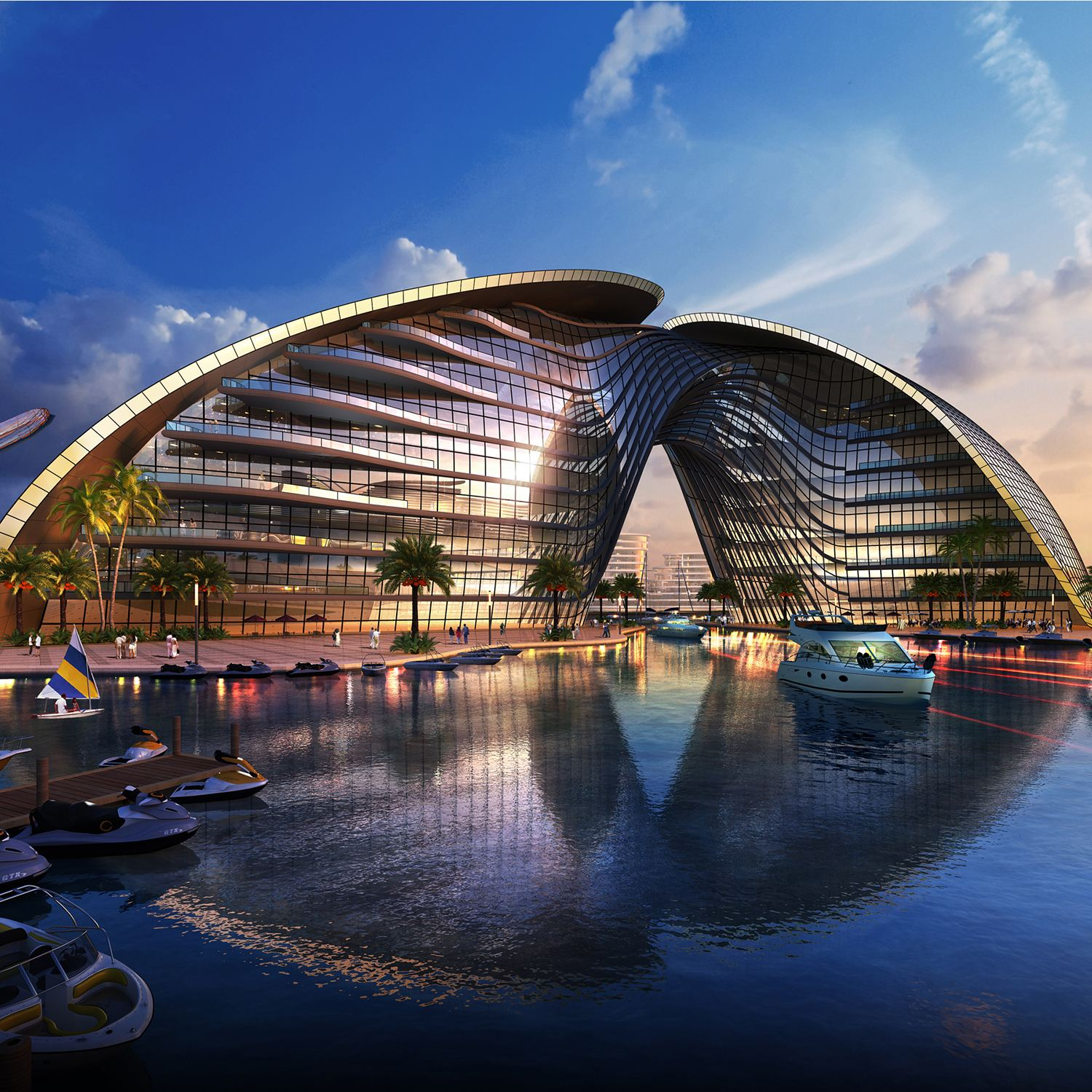 New Manila Bay City of Pearl Commercial Office, Hospitality, Resident by Hpa Architects Engineers and Development Consultants